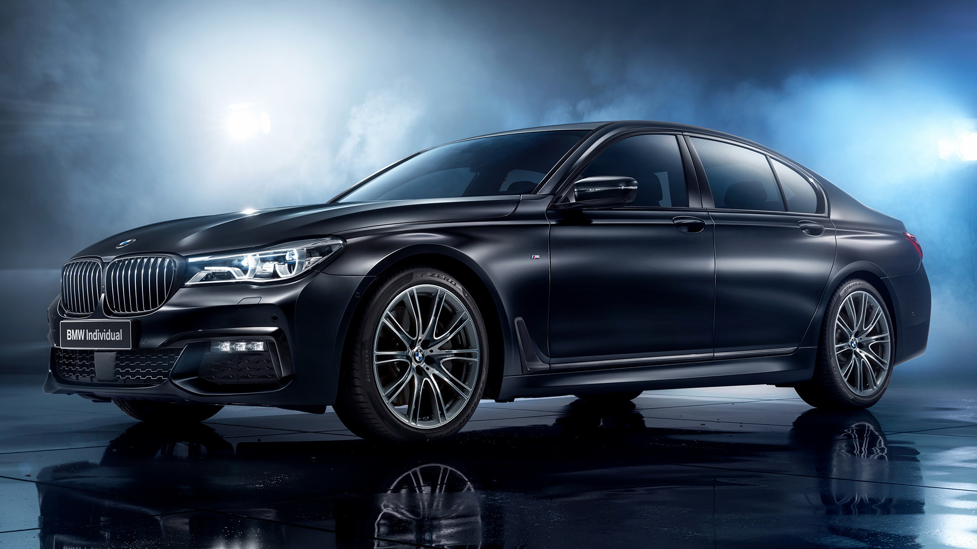 2017 BMW 7 Series Black Ice Edition (RU) - Wallpapers and HD Images | Car Pixel
