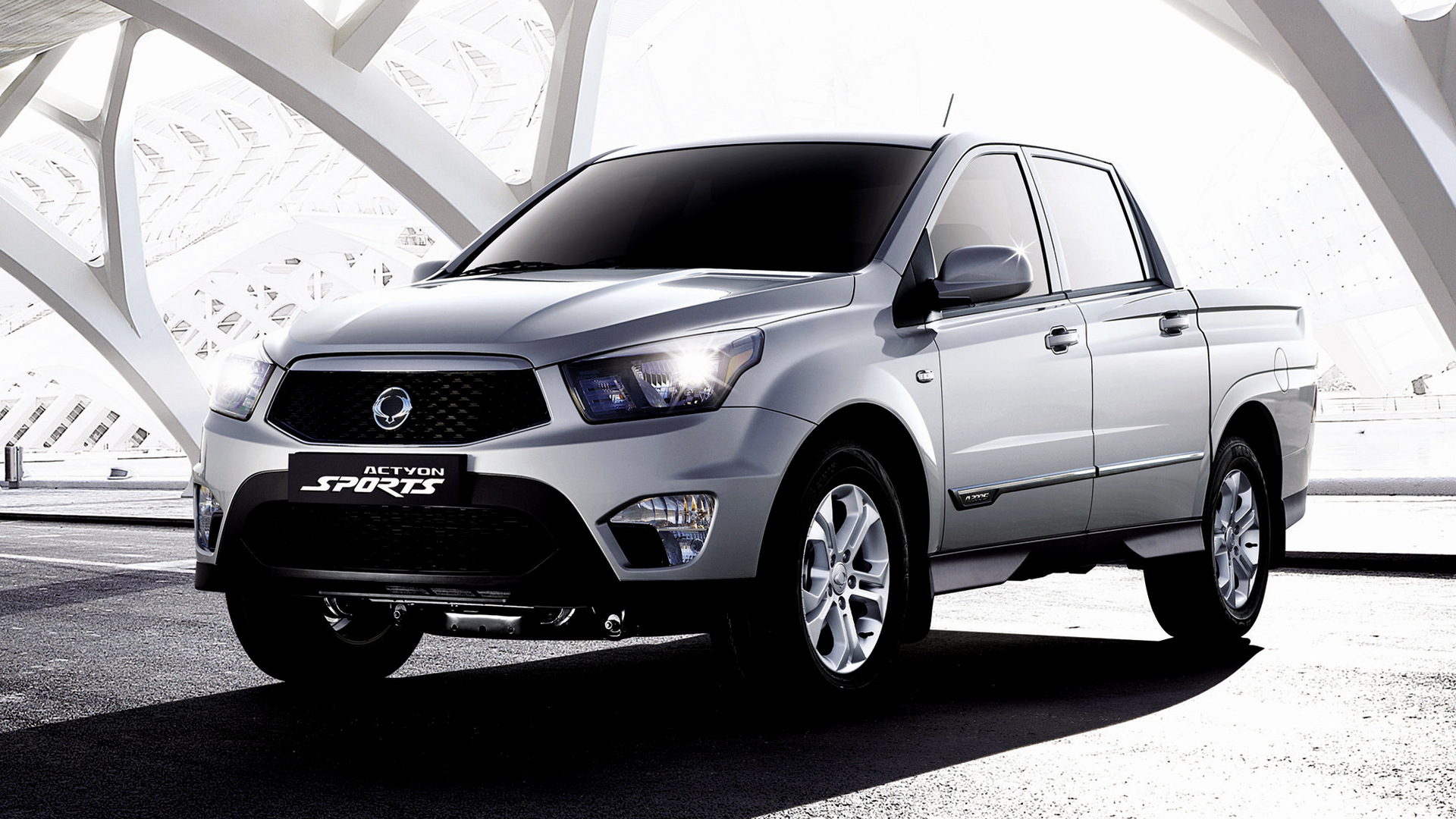 ssangyong actyon sports 2012 wallpapers and hd images car pixel. Black Bedroom Furniture Sets. Home Design Ideas