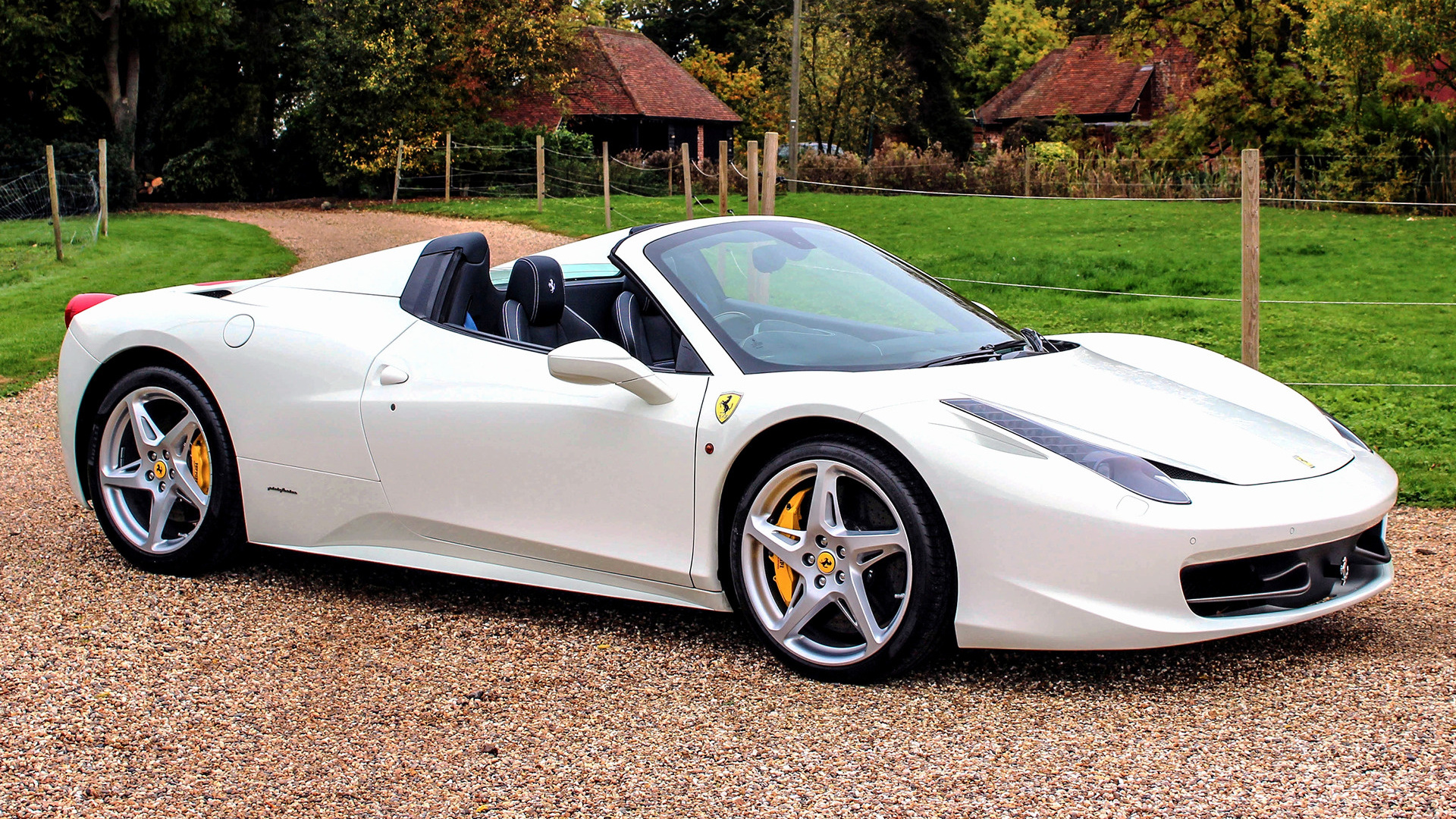 2011 Ferrari 458 Spider Uk Wallpapers And Hd Images Car Pixel