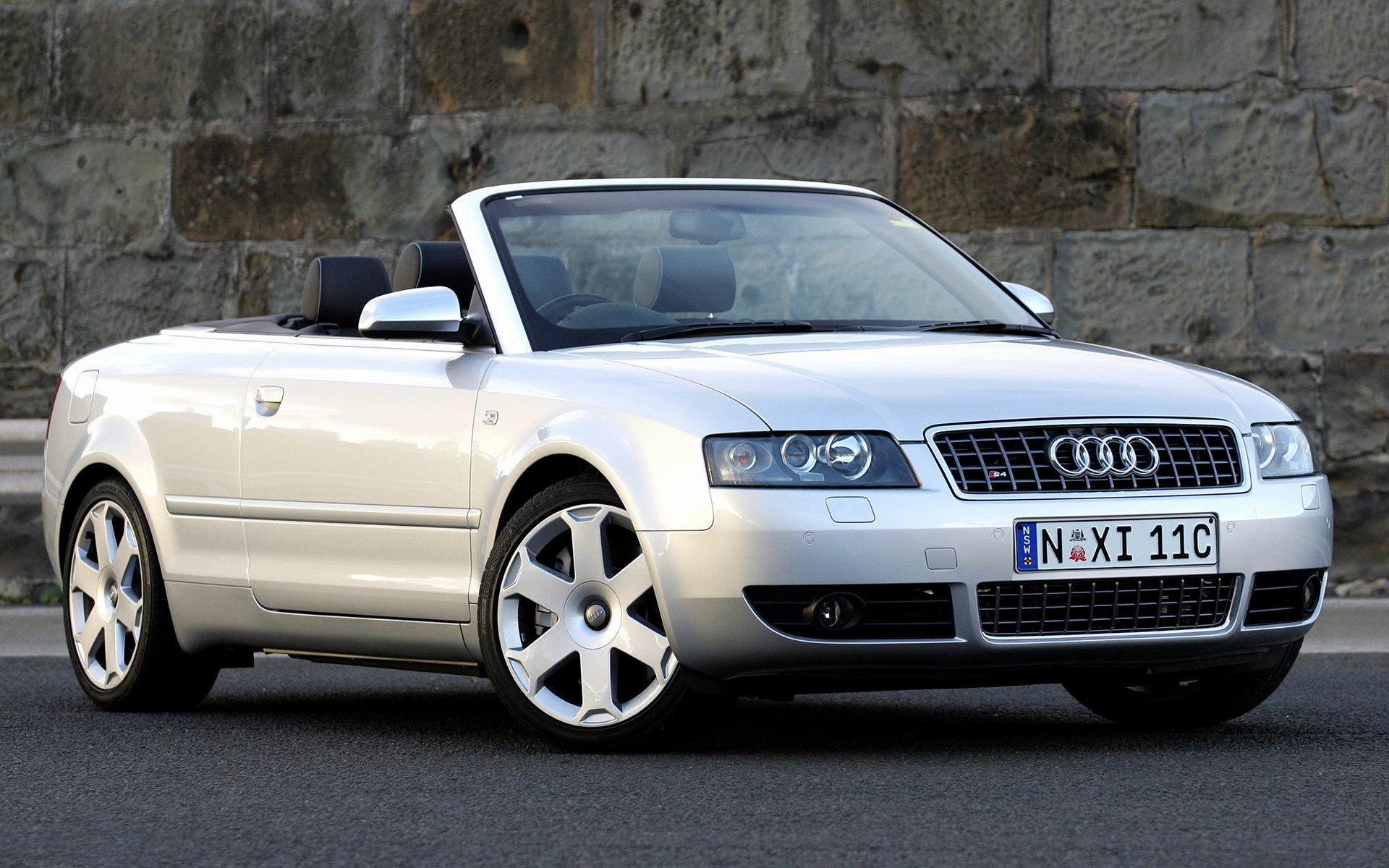 audi s4 cabriolet 2004 au wallpapers and hd images car pixel. Black Bedroom Furniture Sets. Home Design Ideas