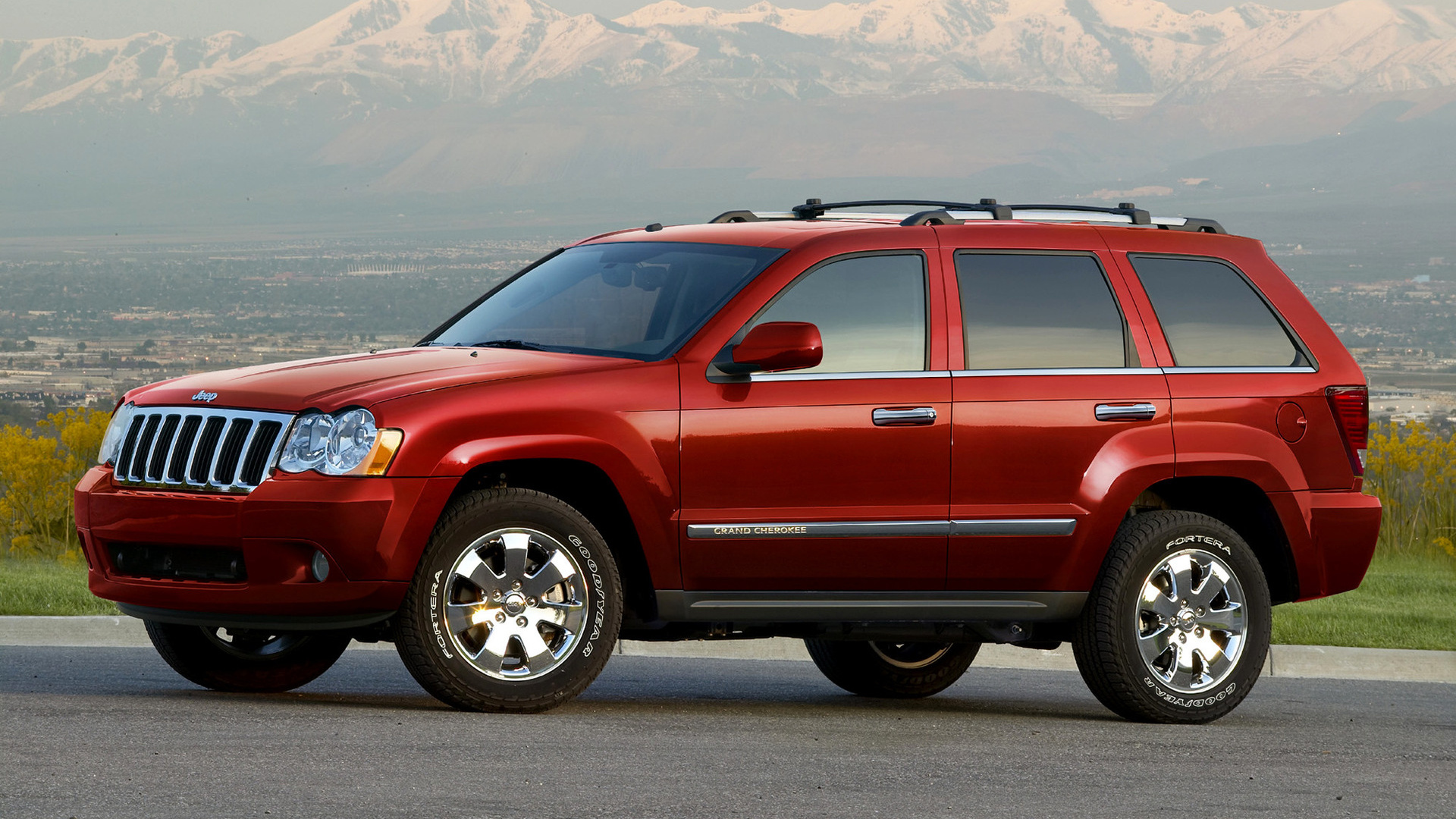 Jeep Grand Cherokee (2008) US Wallpapers and HD Images ...