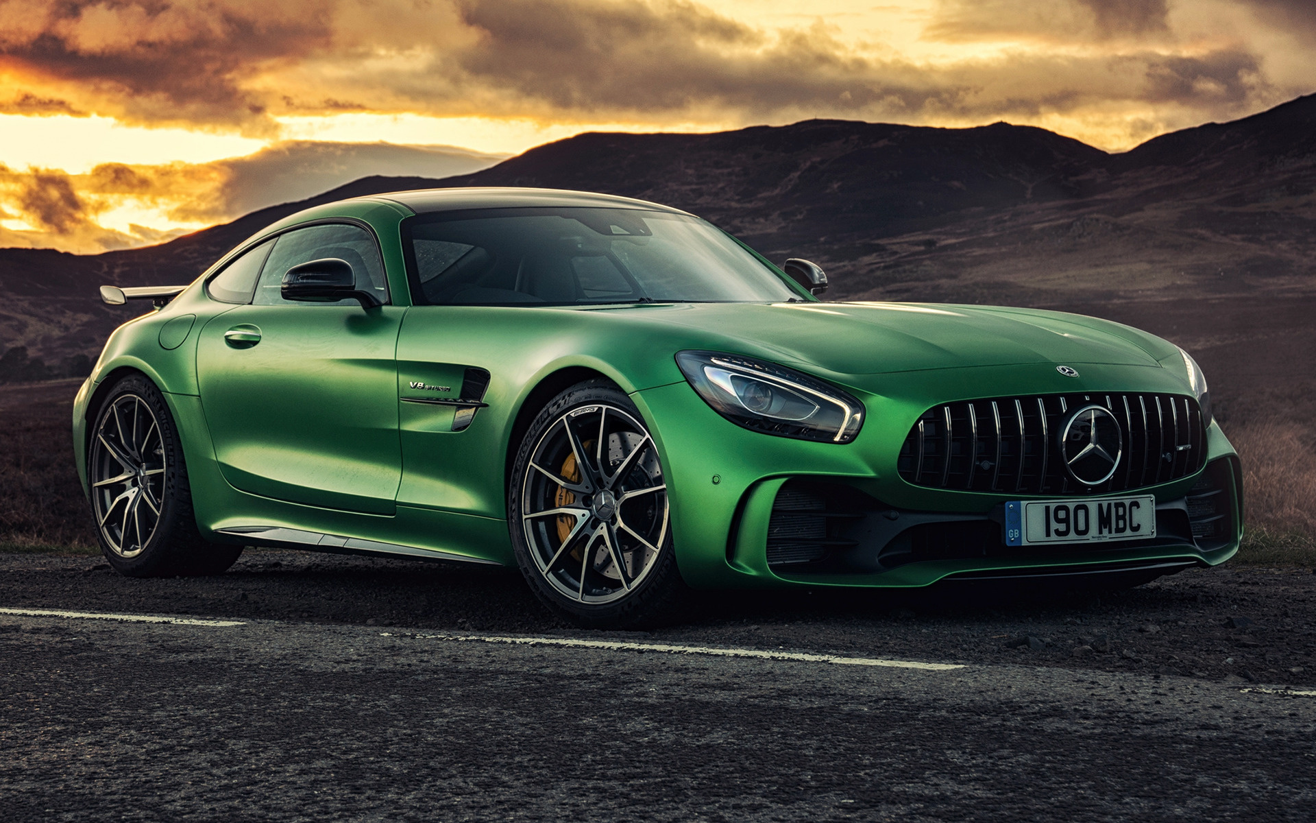 2017 Mercedes-AMG GT R (UK) - Wallpapers and HD Images ...