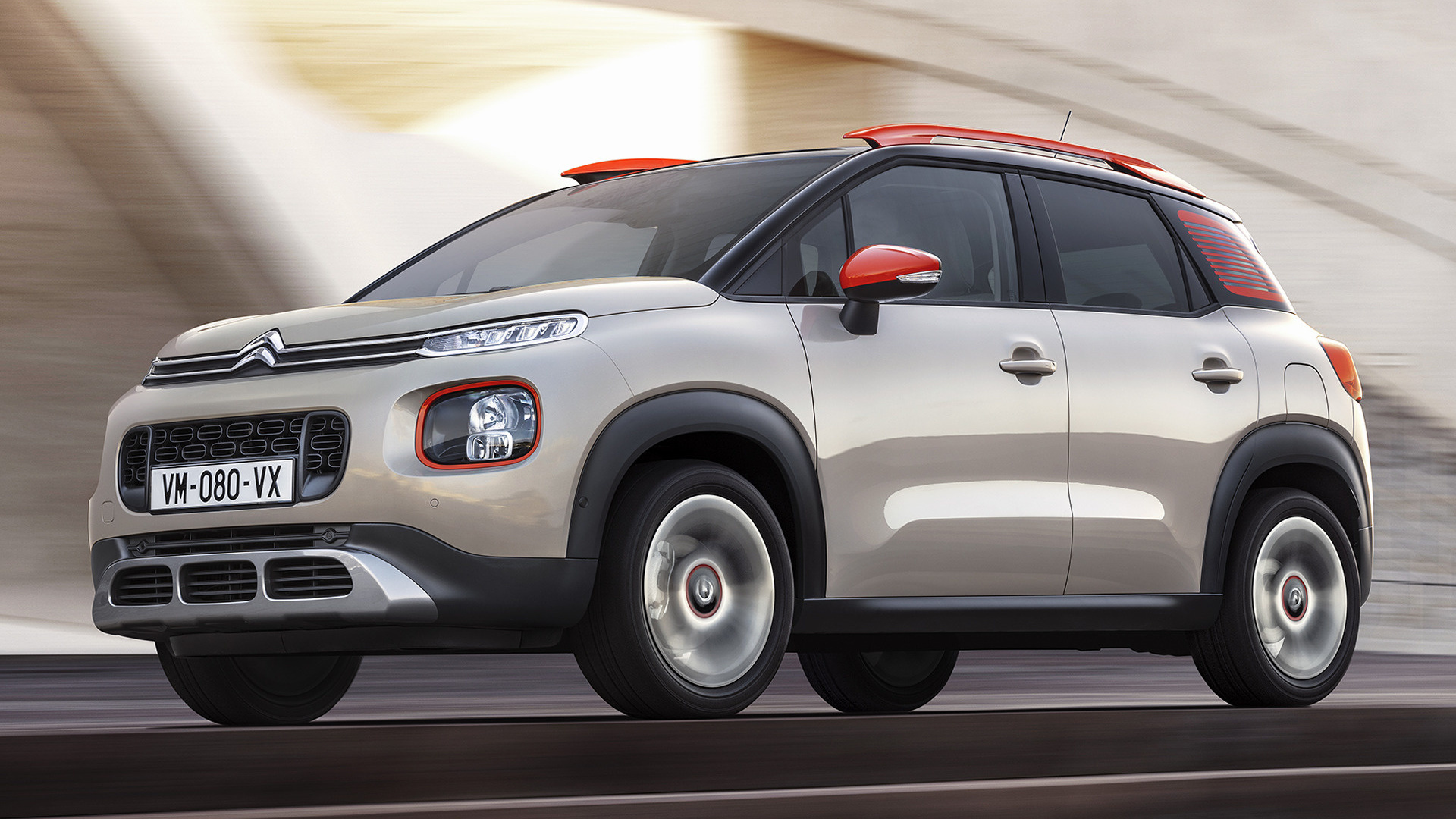 citroen c3 aircross 2017 wallpapers and hd images car pixel. Black Bedroom Furniture Sets. Home Design Ideas