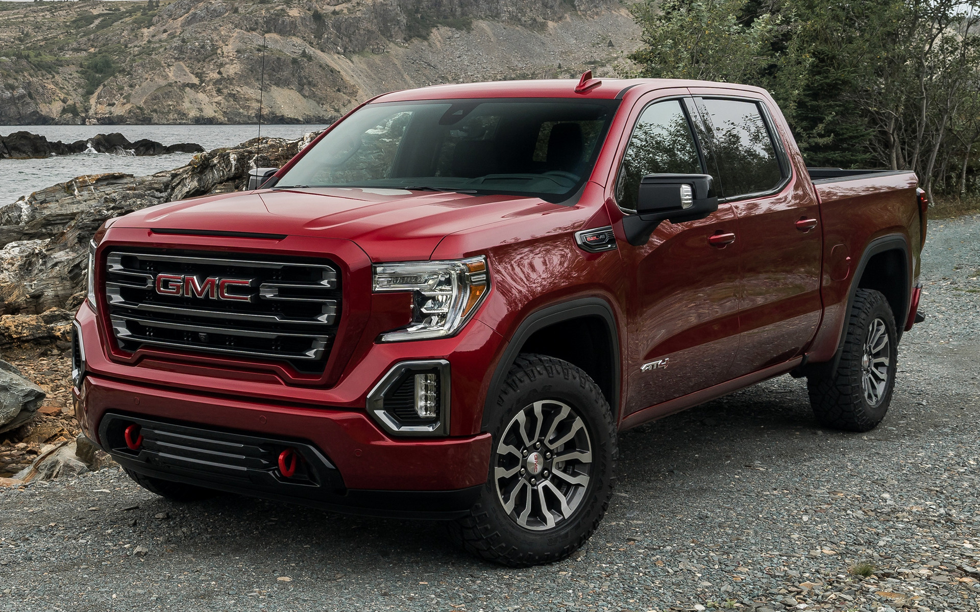 2017 Gmc 2500 >> 2019 GMC Sierra AT4 Crew Cab - Wallpapers and HD Images | Car Pixel