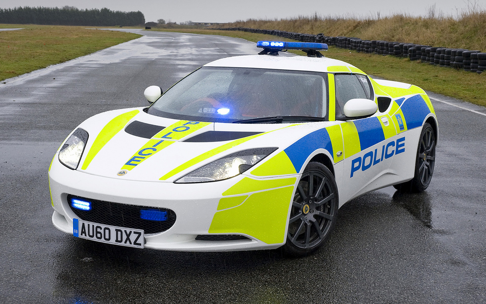2010 Lotus Evora Police - Wallpapers and HD Images | Car Pixel