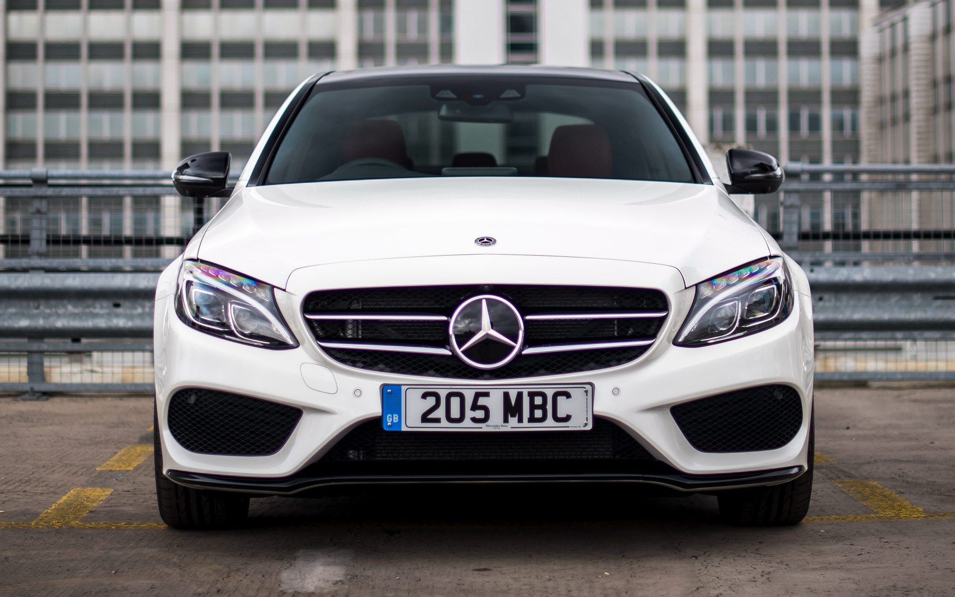 Mercedes benz c class amg line 2014 uk wallpapers and hd for Mercedes benz sedan line