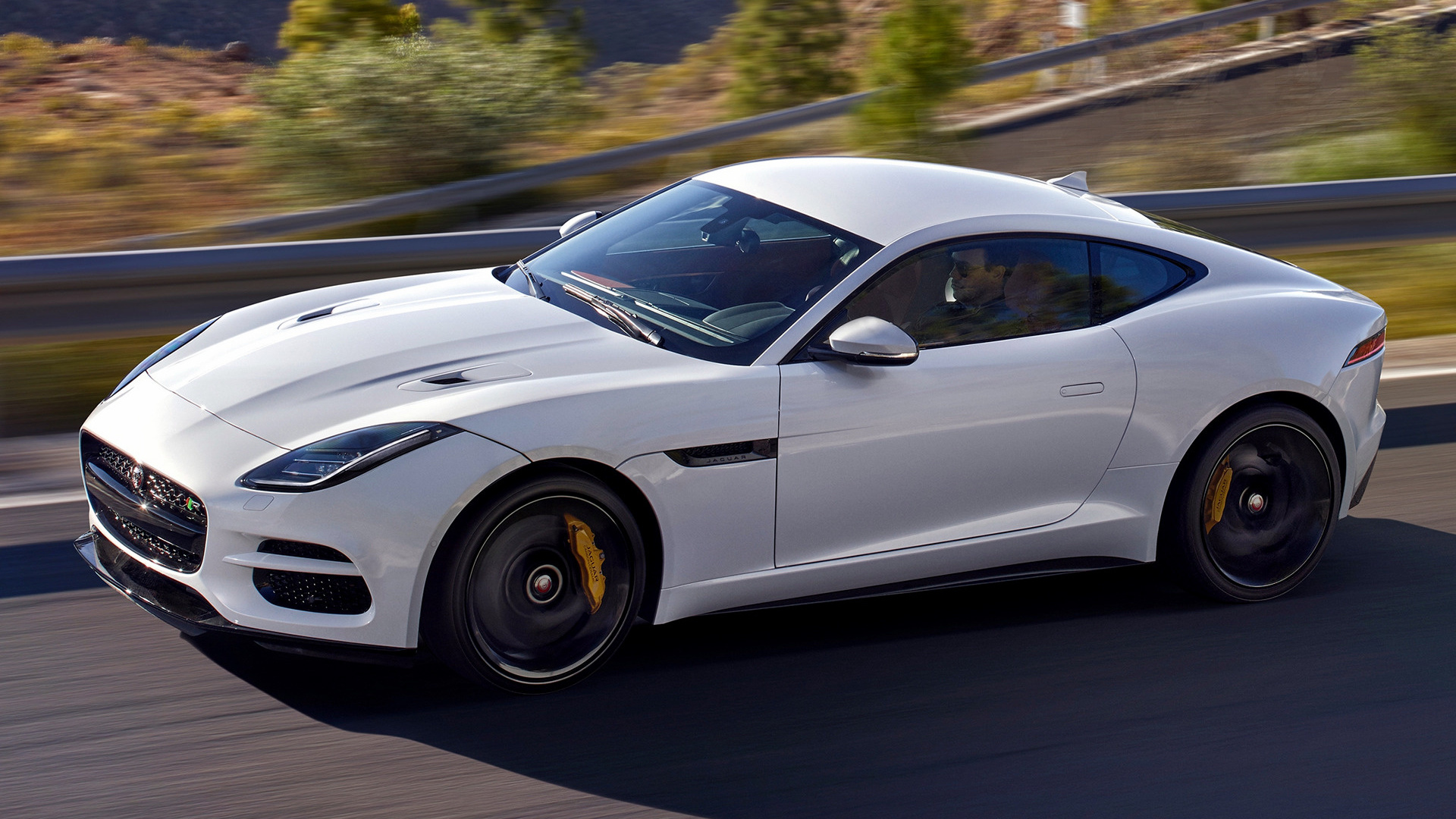 2017 Jaguar F Type R Coupe Wallpapers And Hd Images Car Pixel