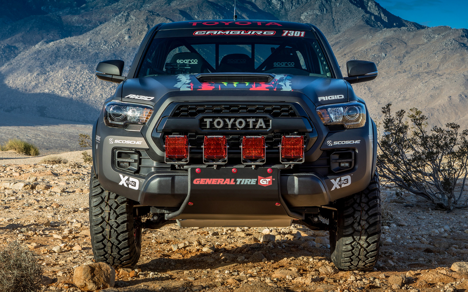 Toyota Tacoma Trd Pro Race Truck 2016 Wallpapers And Hd