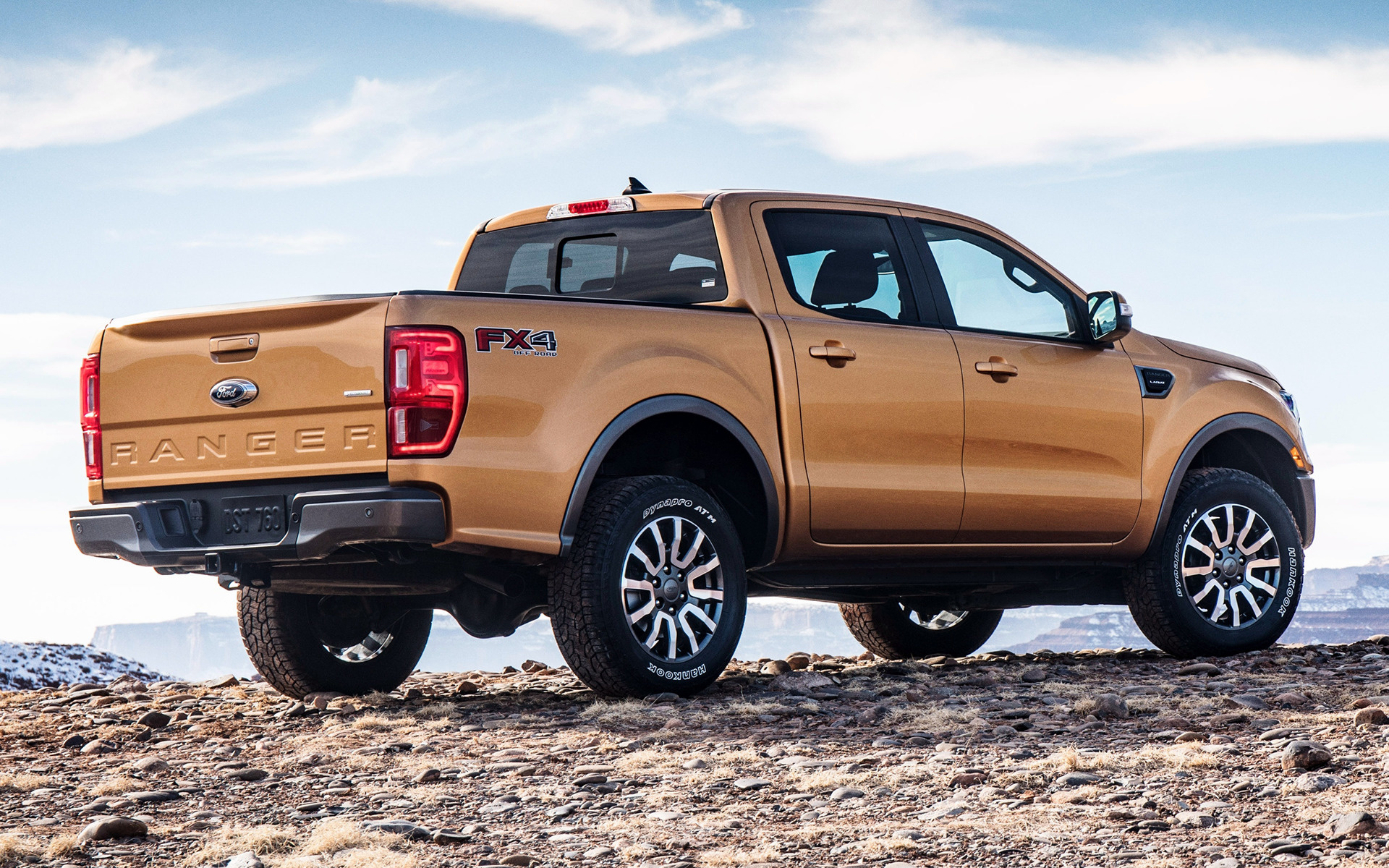 2019 Ford Ranger Lariat Fx4 Supercrew Us Wallpapers