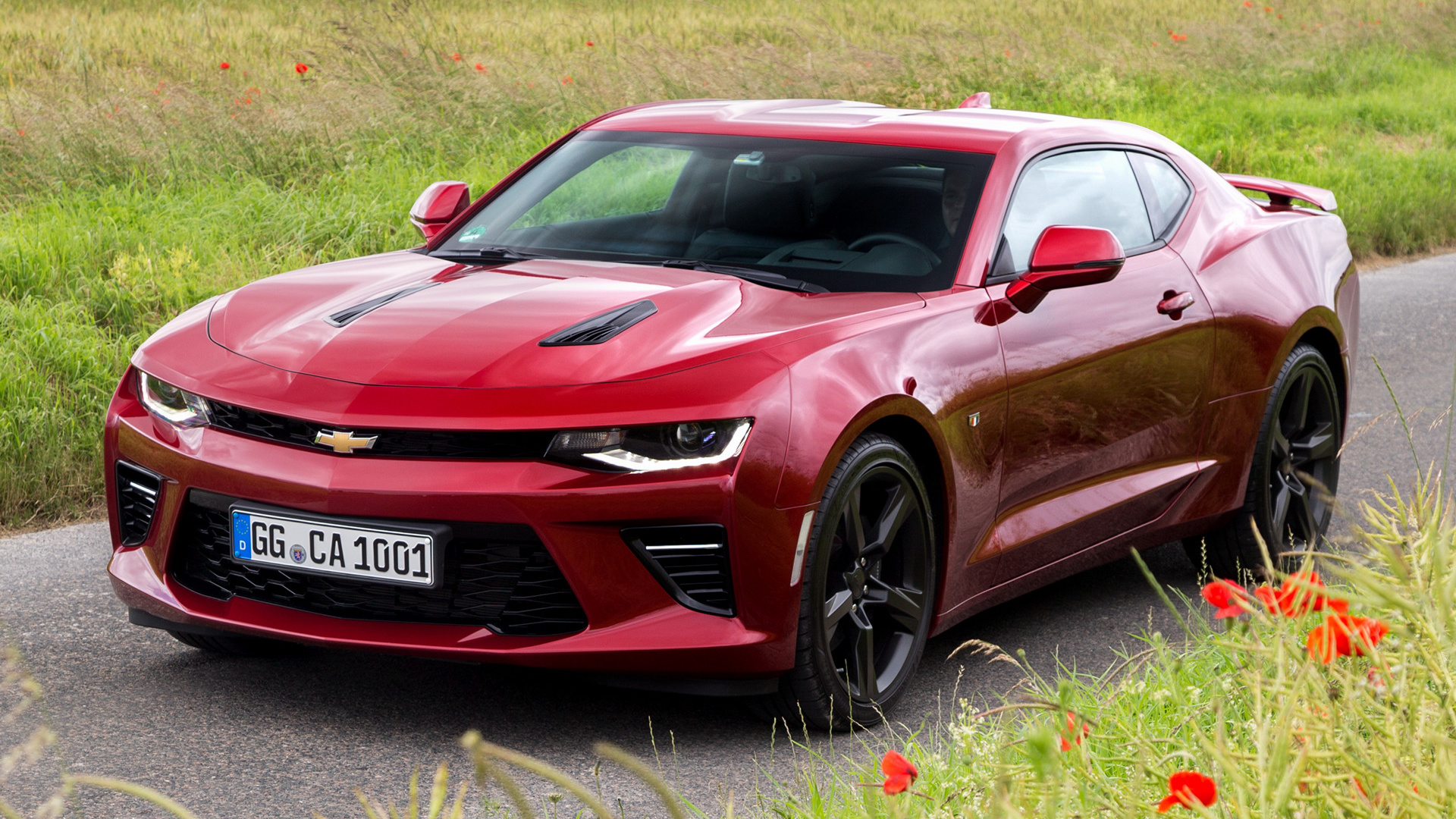 2017 Camaro 50Th Anniversary >> 2016 Chevrolet Camaro V8 (EU) - Wallpapers and HD Images ...