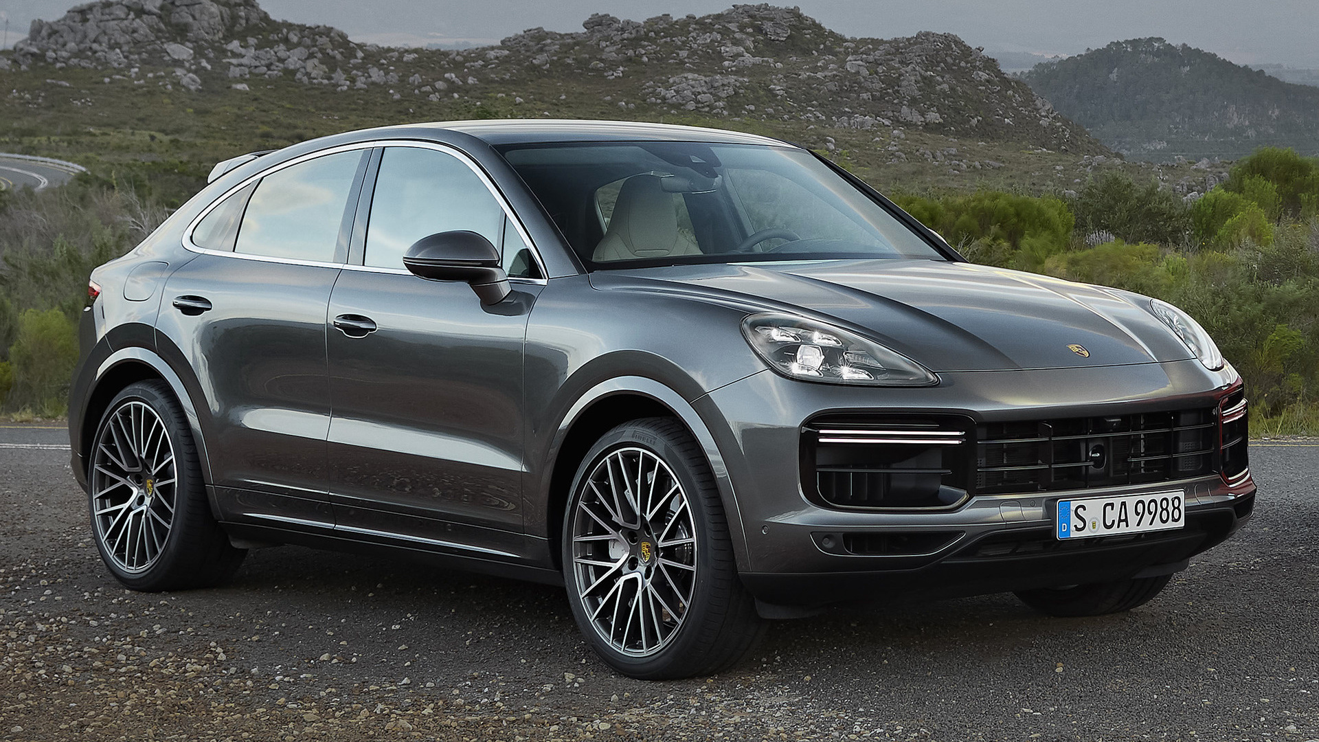 2019 Porsche Cayenne Turbo Coupe - Wallpapers and HD ...