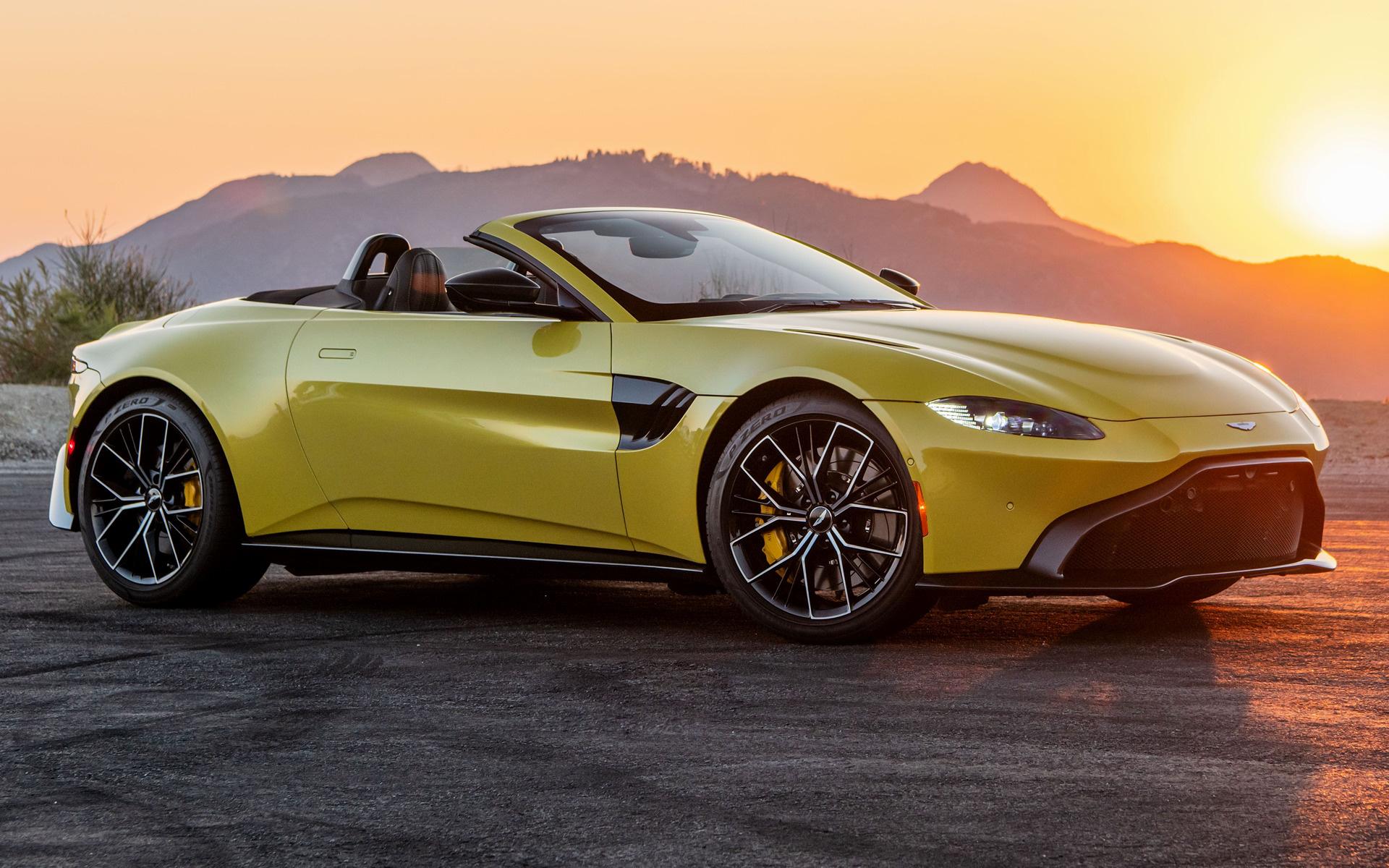 2021 Aston Martin Vantage Roadster Us Hintergrundbilder Und Wallpaper In Hd Car Pixel