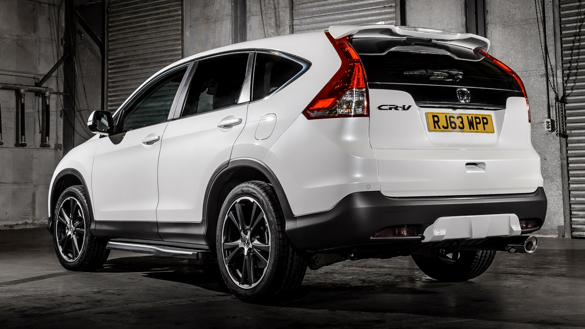 White Land Rover >> 2014 Honda CR-V White - Wallpapers and HD Images | Car Pixel