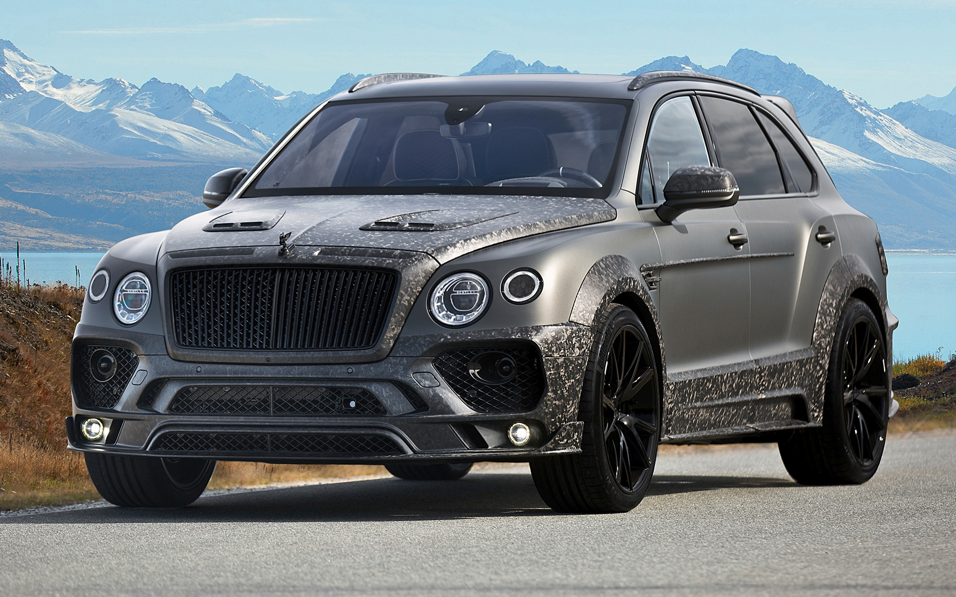 2017 Bentley Bentayga Black Edition By Mansory