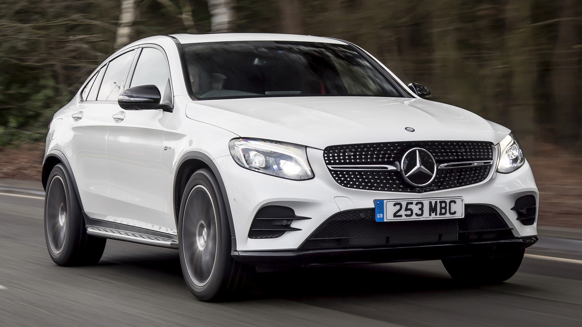 mercedes amg glc 43 coupe 2017 uk wallpapers and hd images car pixel. Black Bedroom Furniture Sets. Home Design Ideas