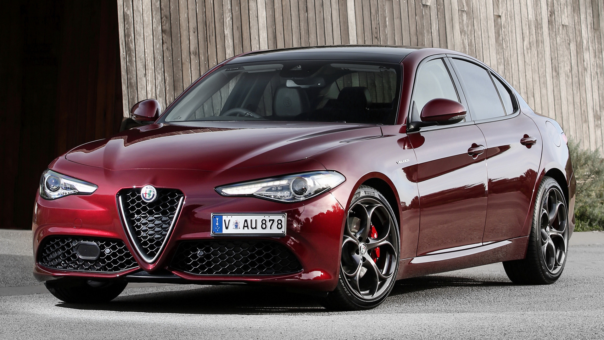 alfa romeo giulia veloce 2017 au wallpapers and hd images car pixel. Black Bedroom Furniture Sets. Home Design Ideas