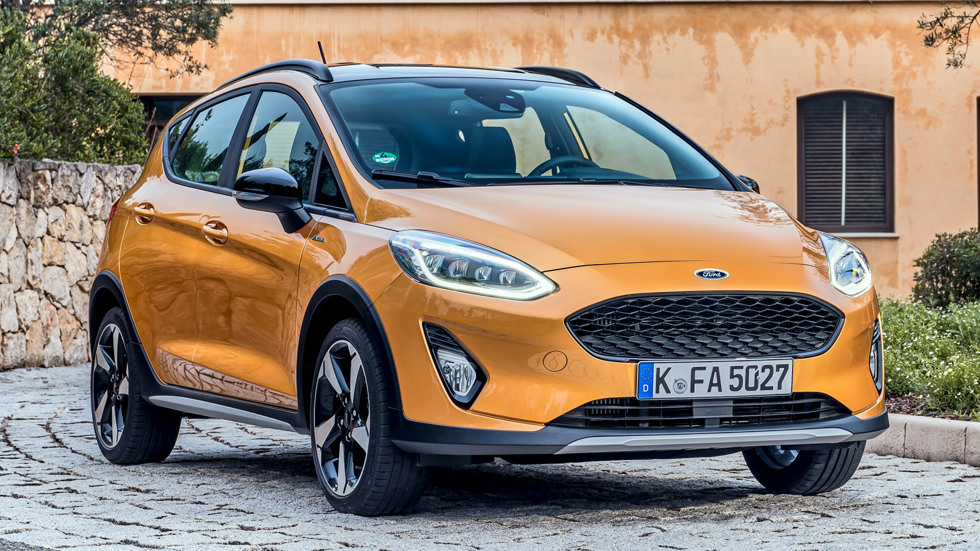 2018 ford fiesta active 5 door wallpapers and hd images. Black Bedroom Furniture Sets. Home Design Ideas