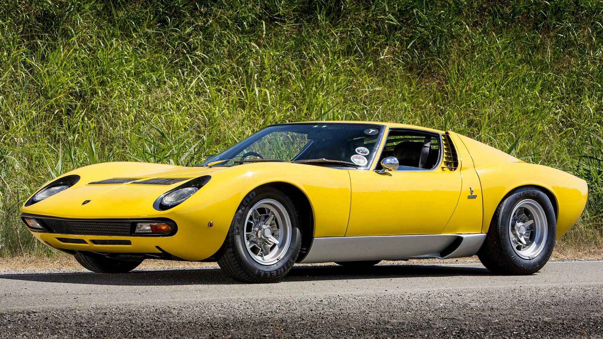 1971 Lamborghini Miura Sv Uk Wallpapers And Hd Images Car Pixel