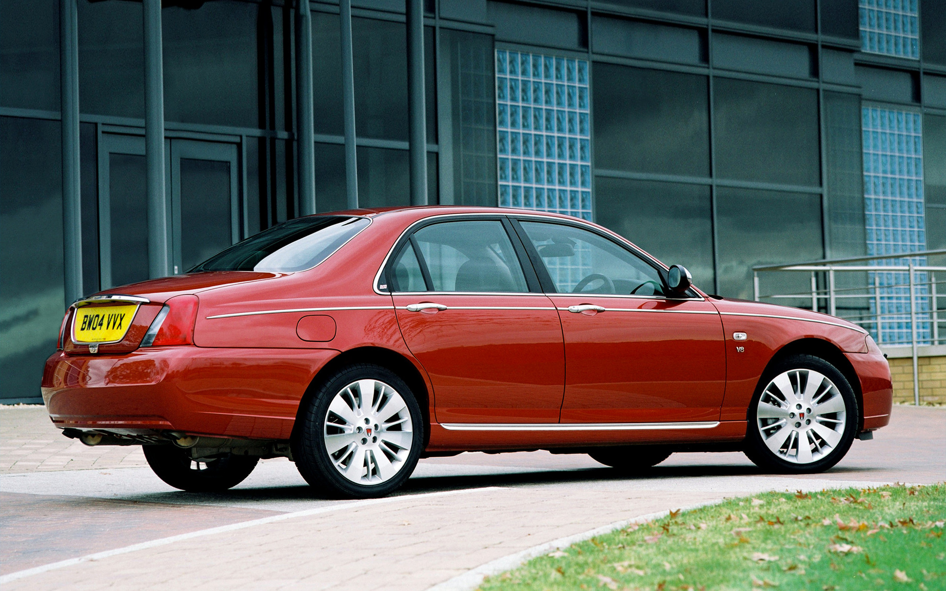 2004 Rover 75 V8 Wallpapers And Hd Images Car Pixel