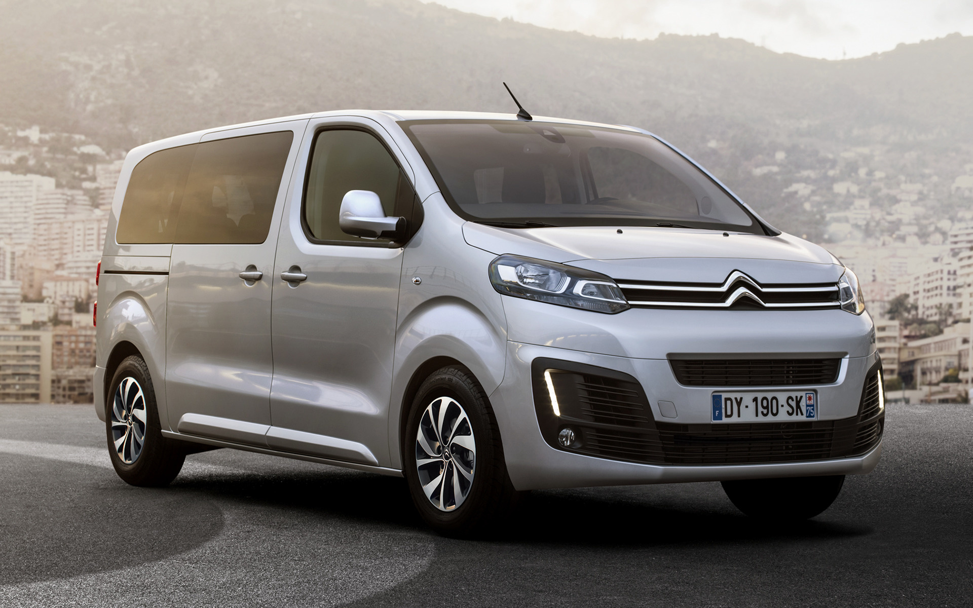 All Car Brands >> 2016 Citroen SpaceTourer - Wallpapers and HD Images | Car Pixel