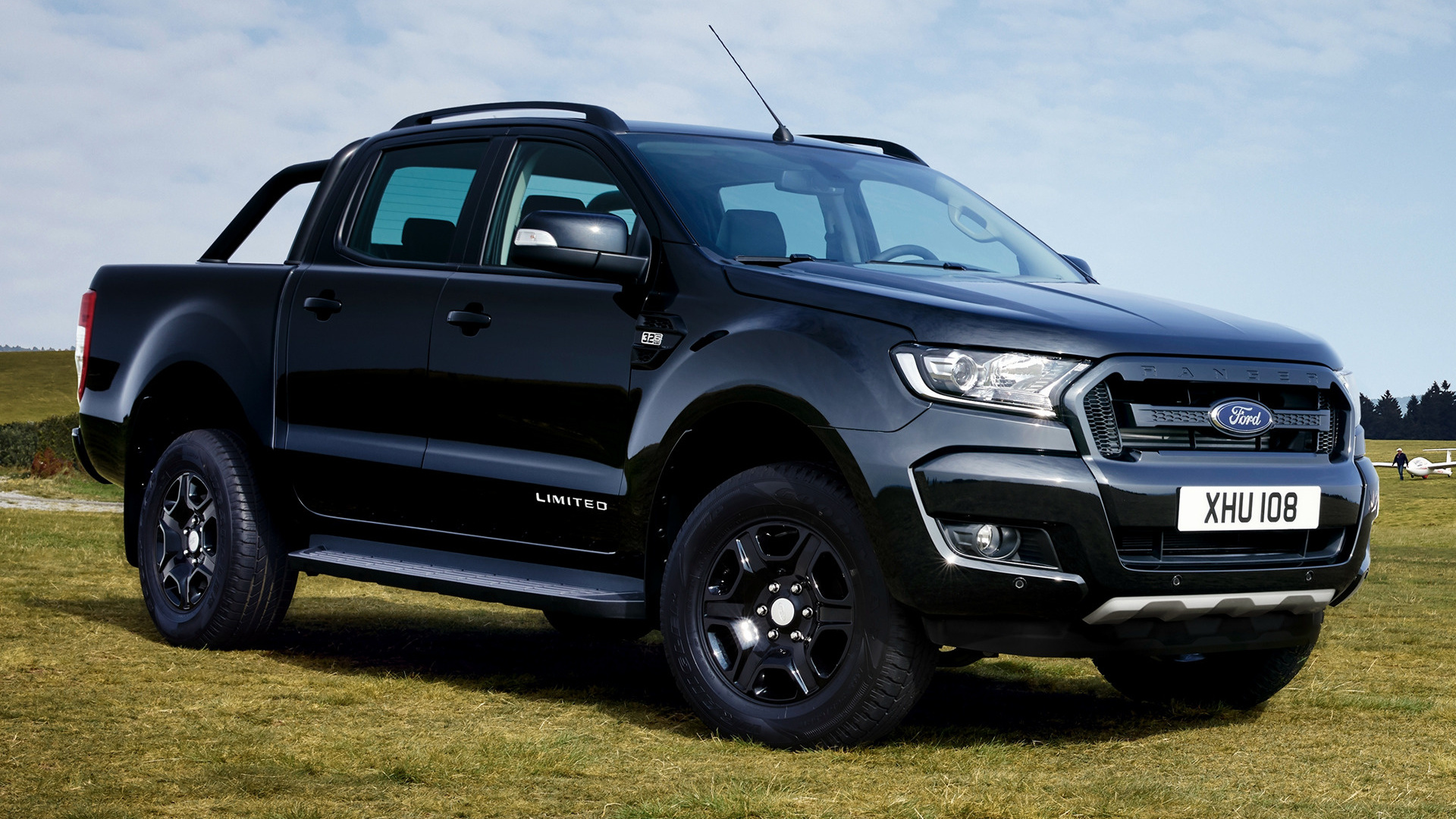 ford ranger limited double cab black edition 2017 wallpapers and hd images car pixel. Black Bedroom Furniture Sets. Home Design Ideas