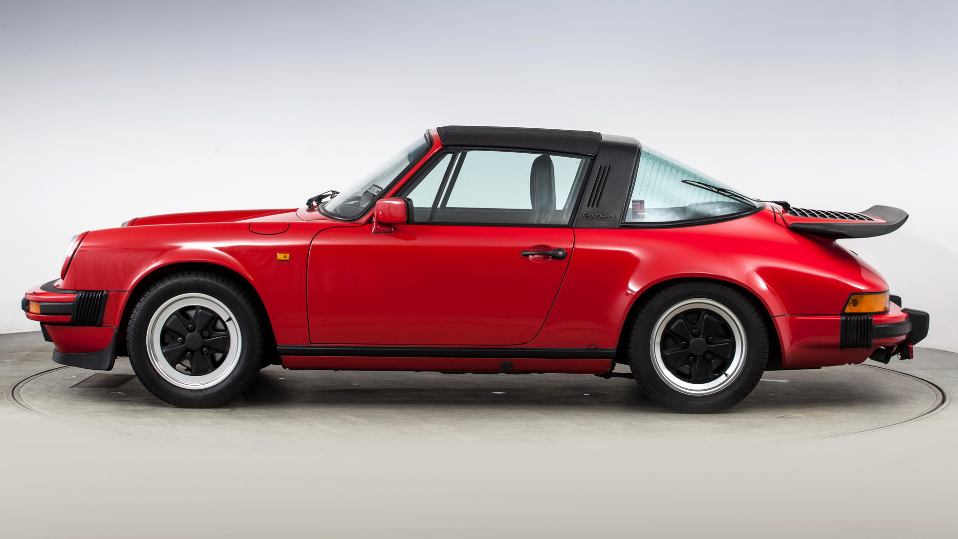 Porsche 911 Carrera Targa With Whale Tail 1984 Uk