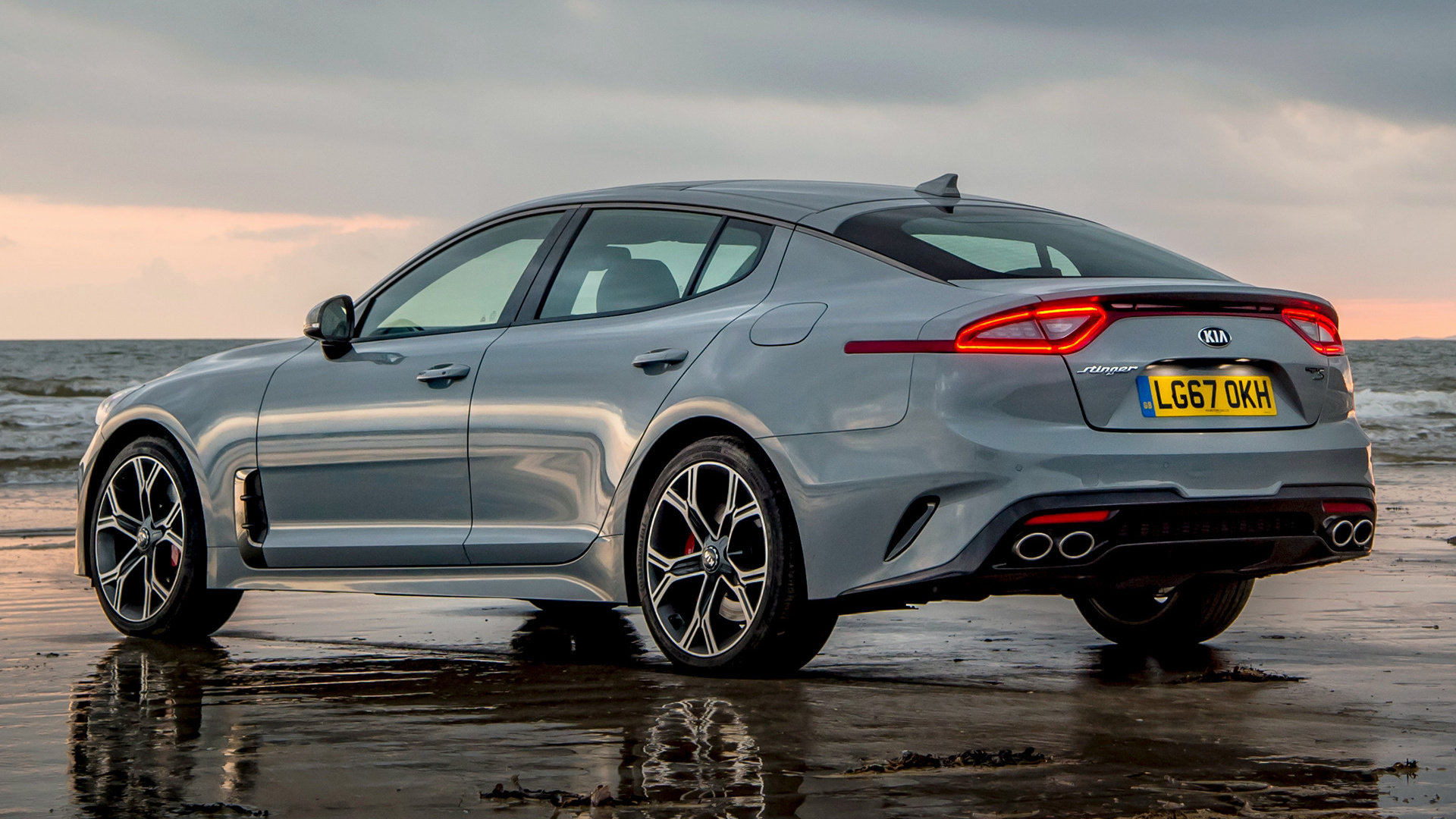 2017 Kia Stinger GT S (UK) - Wallpapers and HD Images ...