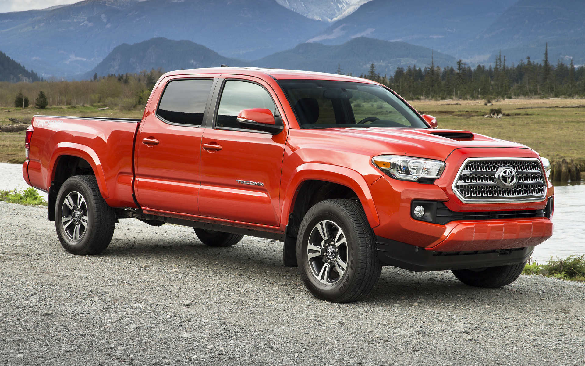 Tacoma Double Cab >> Toyota Tacoma TRD Sport Double Cab (2016) Wallpapers and ...