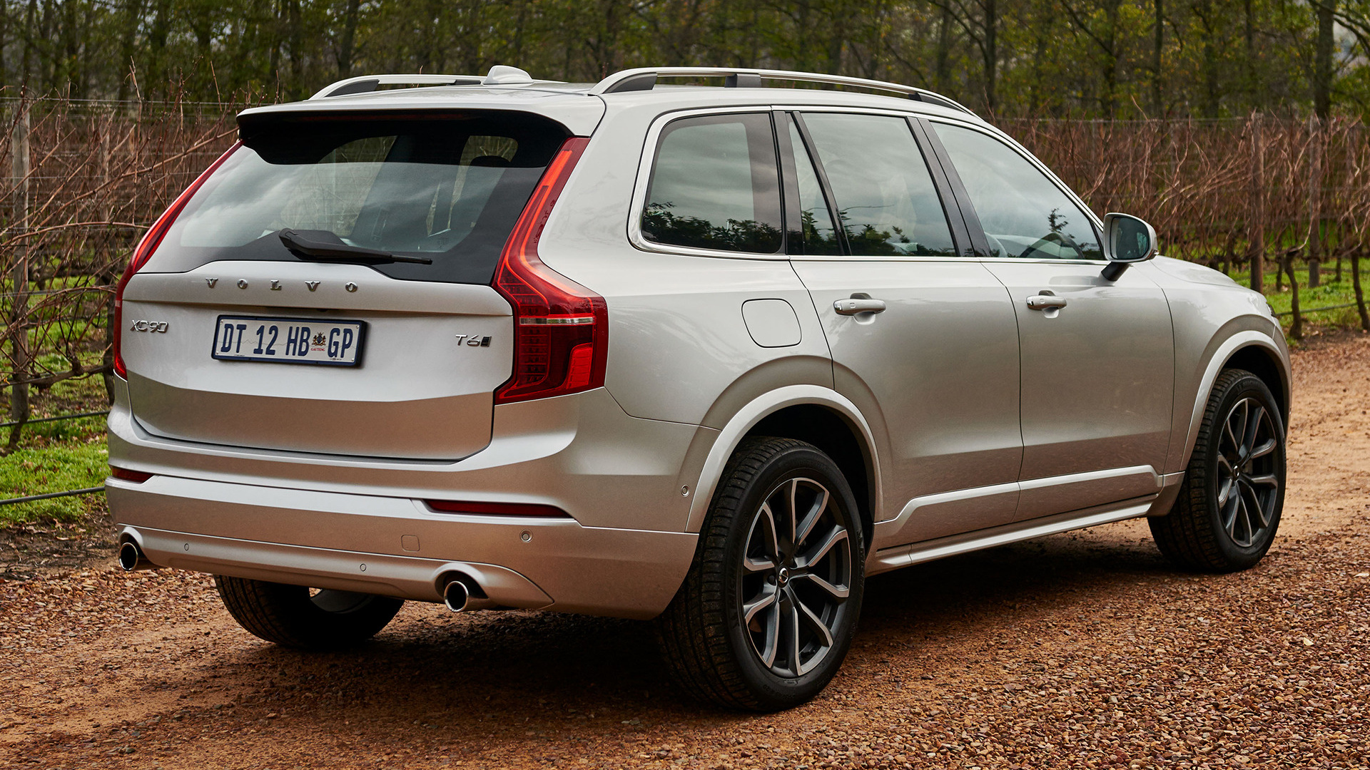 volvo xc90 momentum 2015 za wallpapers and hd images. Black Bedroom Furniture Sets. Home Design Ideas