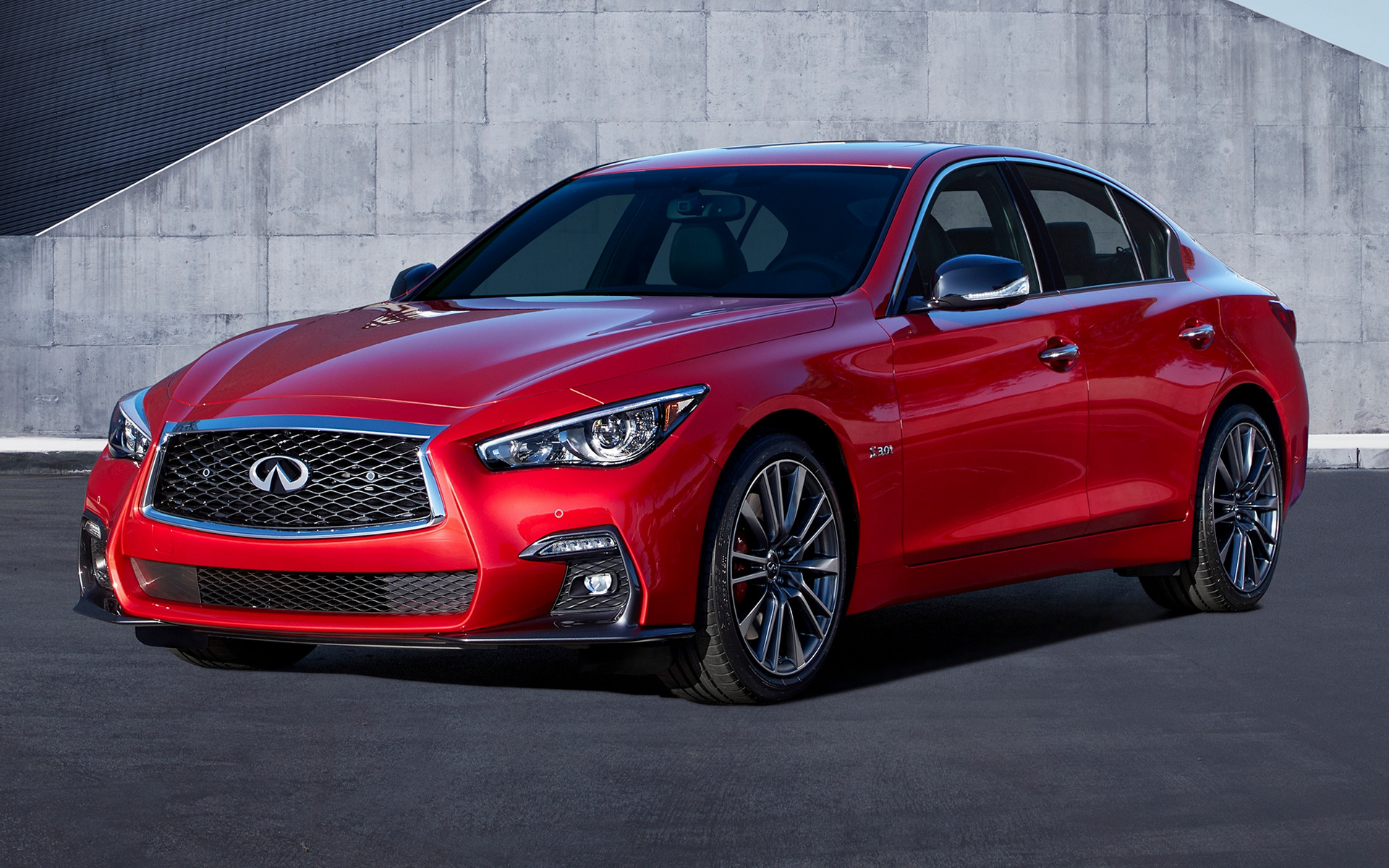 2018 Infiniti Q50 Sport - Wallpapers and HD Images | Car Pixel
