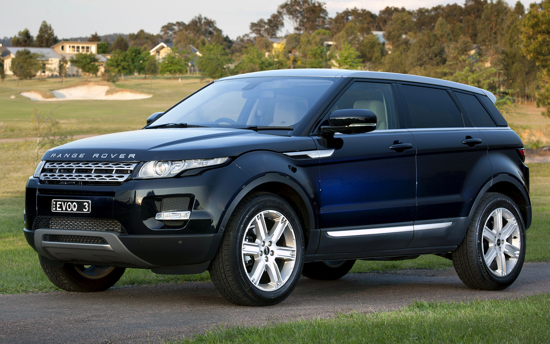 range rover evoque 2011 au wallpapers and hd images. Black Bedroom Furniture Sets. Home Design Ideas