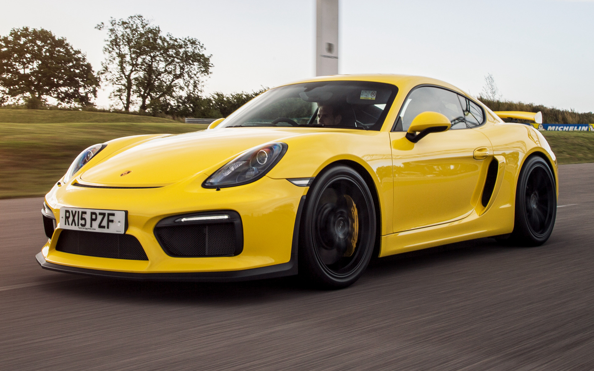 Porsche Cayman GT4 (2015) UK Wallpapers And HD Images