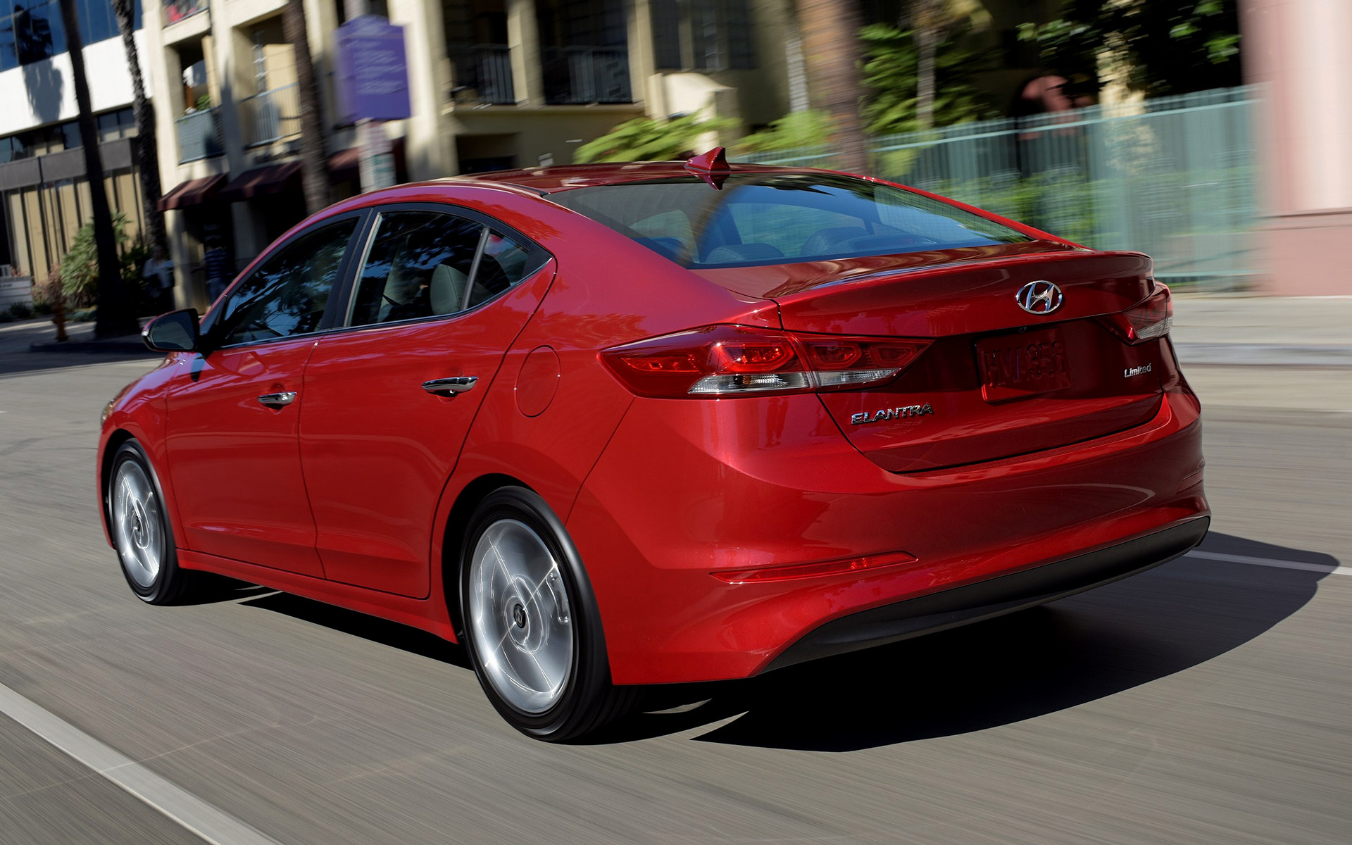2016 Hyundai Elantra Limited >> 2017 Hyundai Elantra Limited (US) - Wallpapers and HD