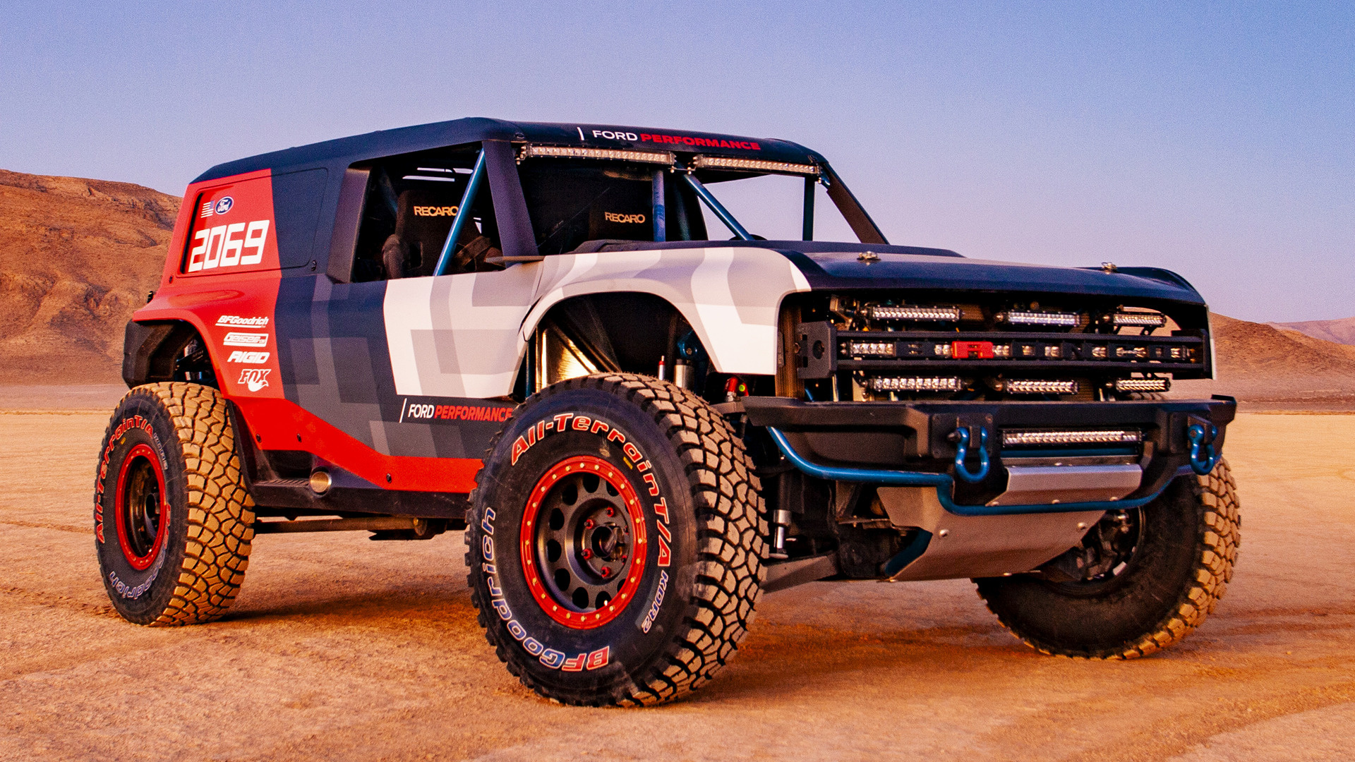 2019 Ford Bronco R Race Prototype - Wallpapers and HD ...