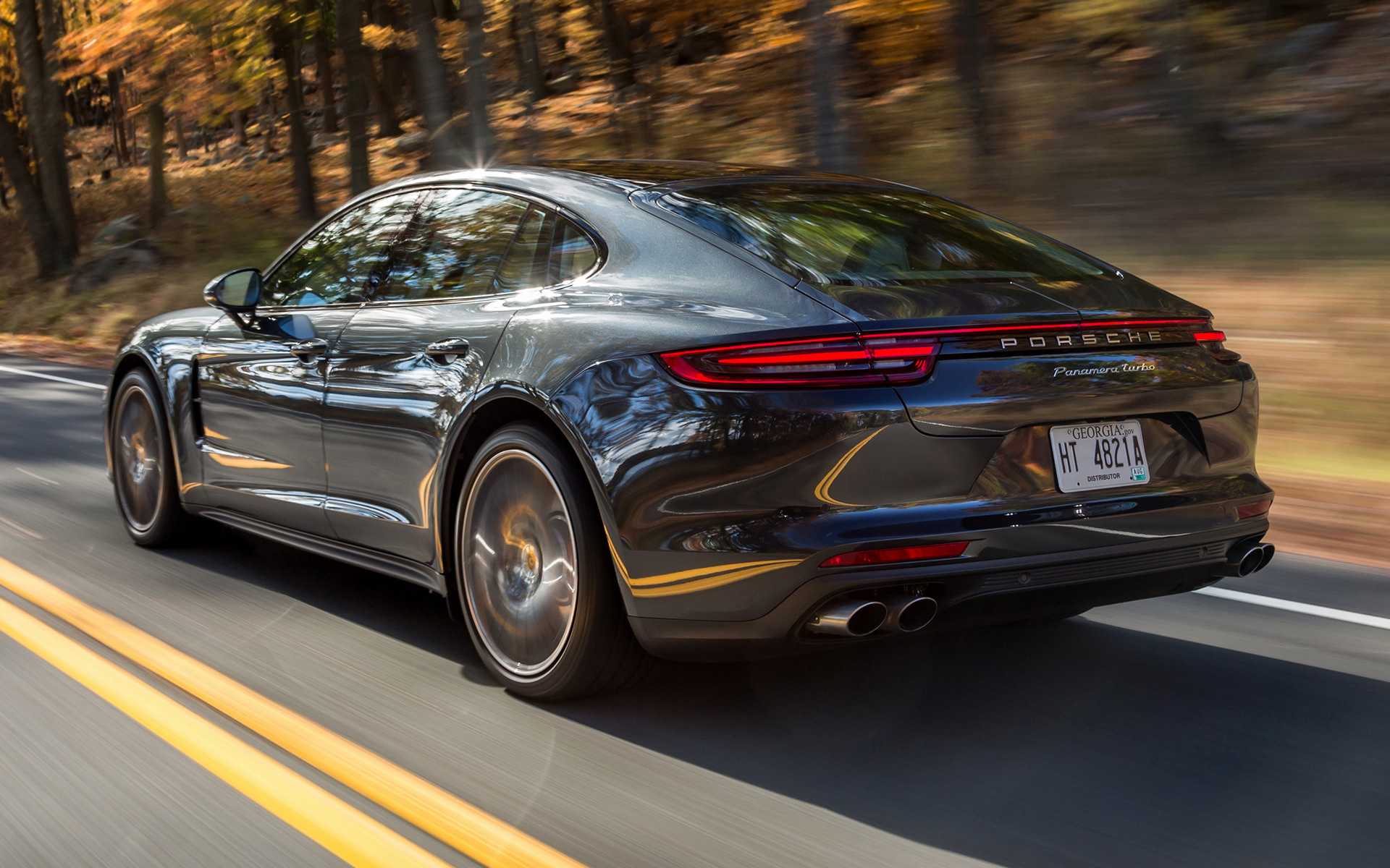 Porsche Panamera Turbo (2017) US Wallpapers and HD Images ...