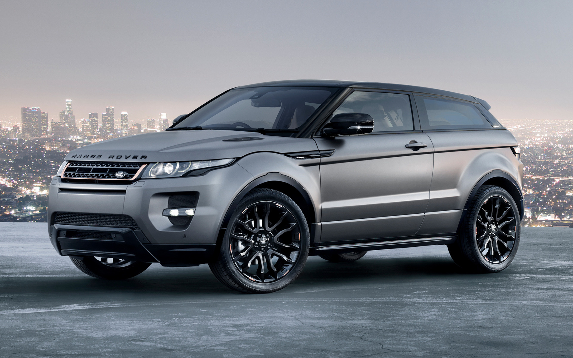 Обои black matte, range rover. Автомобили foto 14