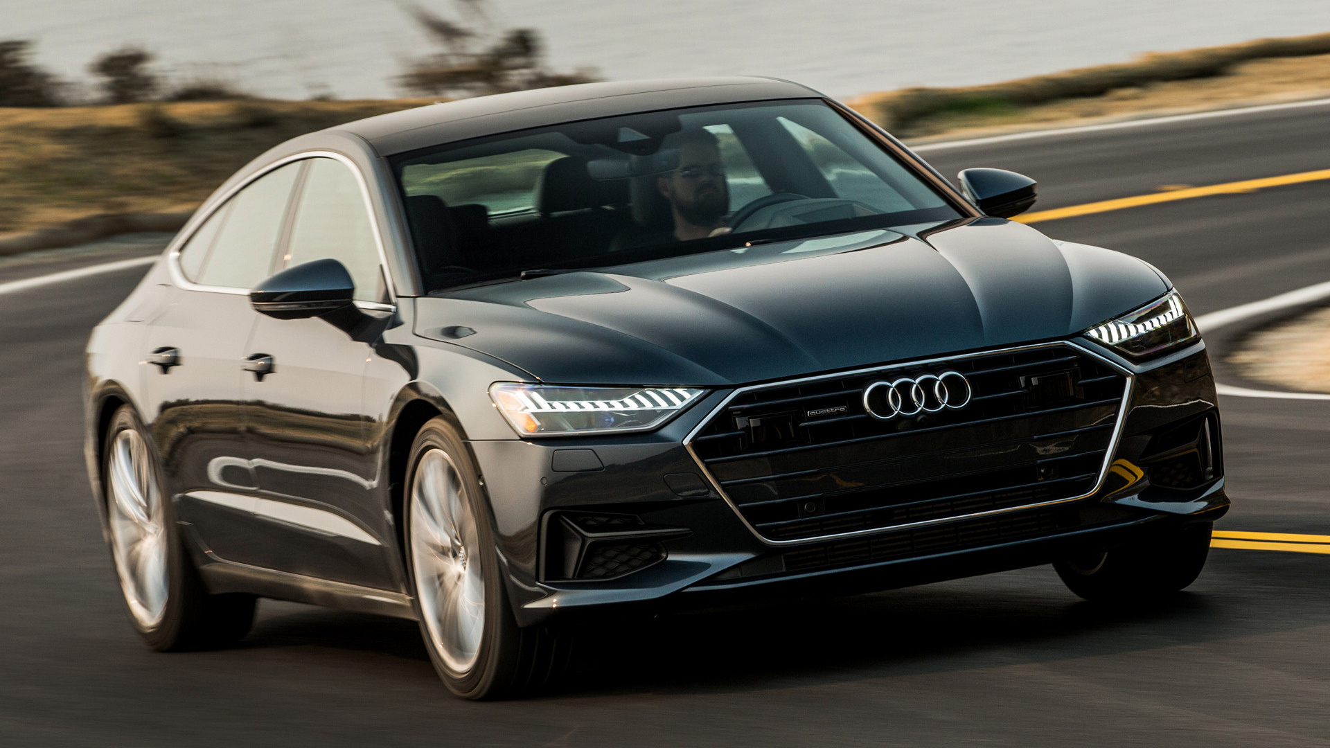 Audi A7 Sportback 2019 Us Wallpapers And Hd Images Car Pixel