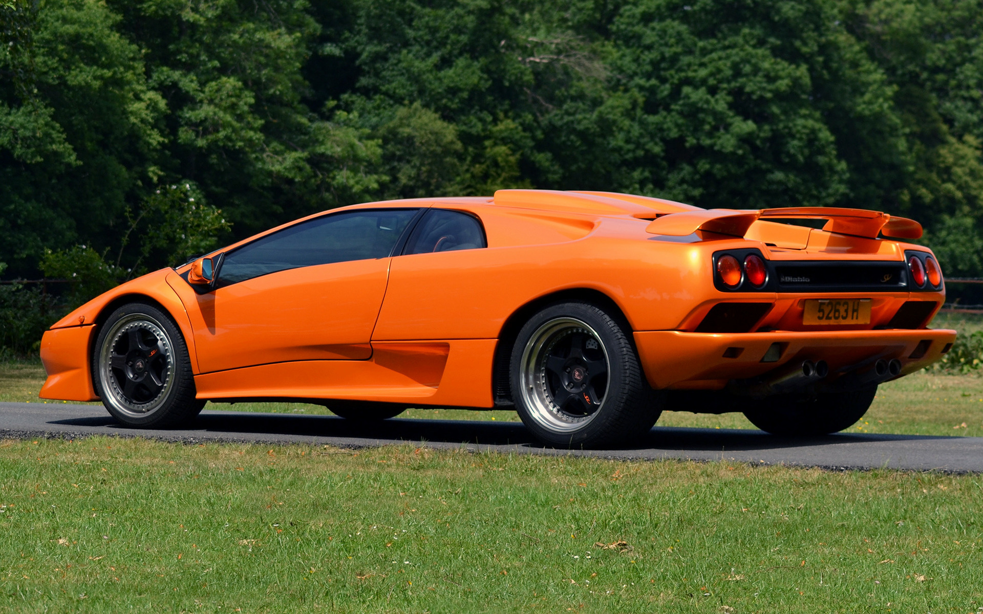1995 Lamborghini Diablo Sv Uk Wallpapers And Hd Images Car Pixel