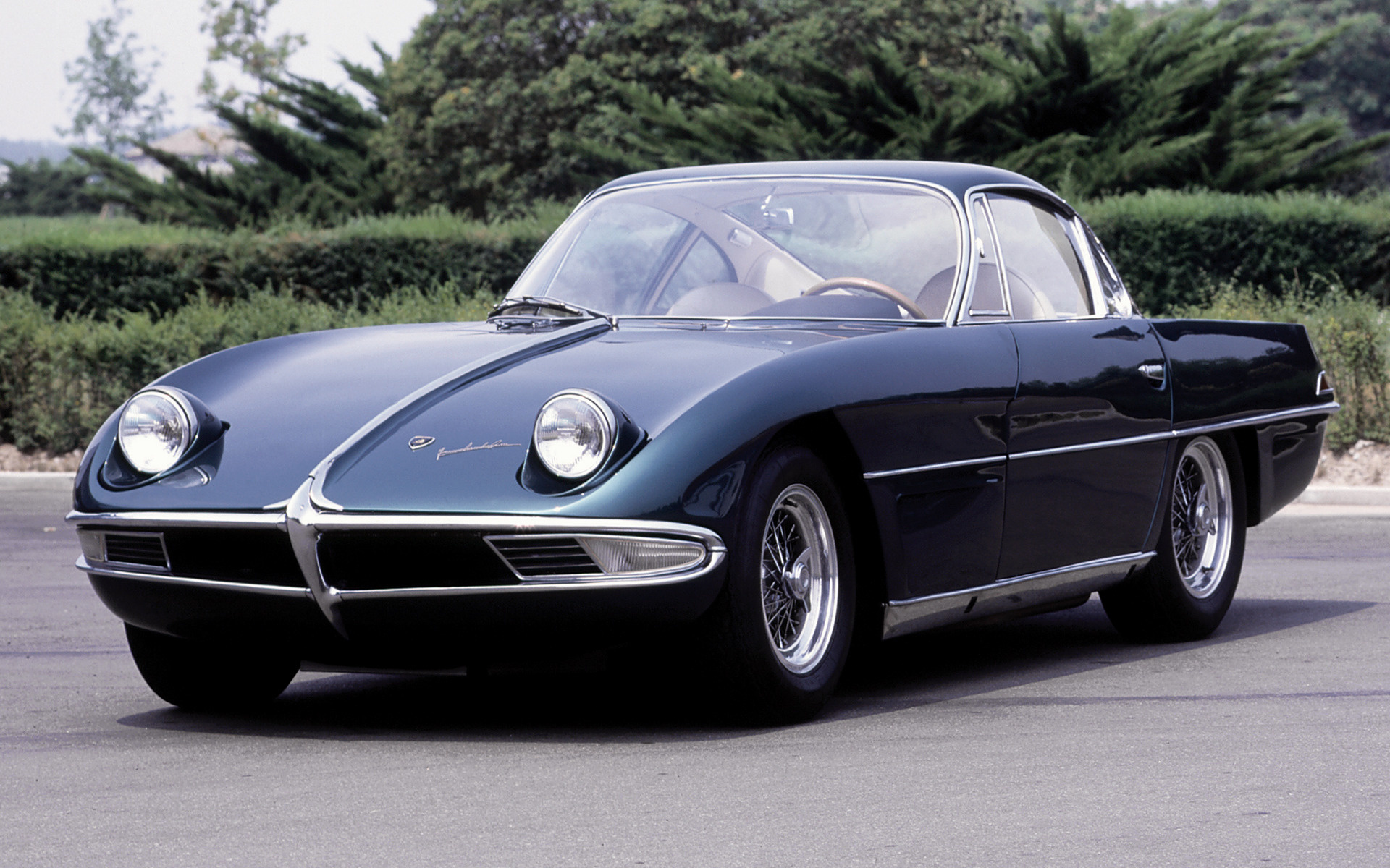 1963 Lamborghini 350 GTV Prototype - Wallpapers and HD ...
