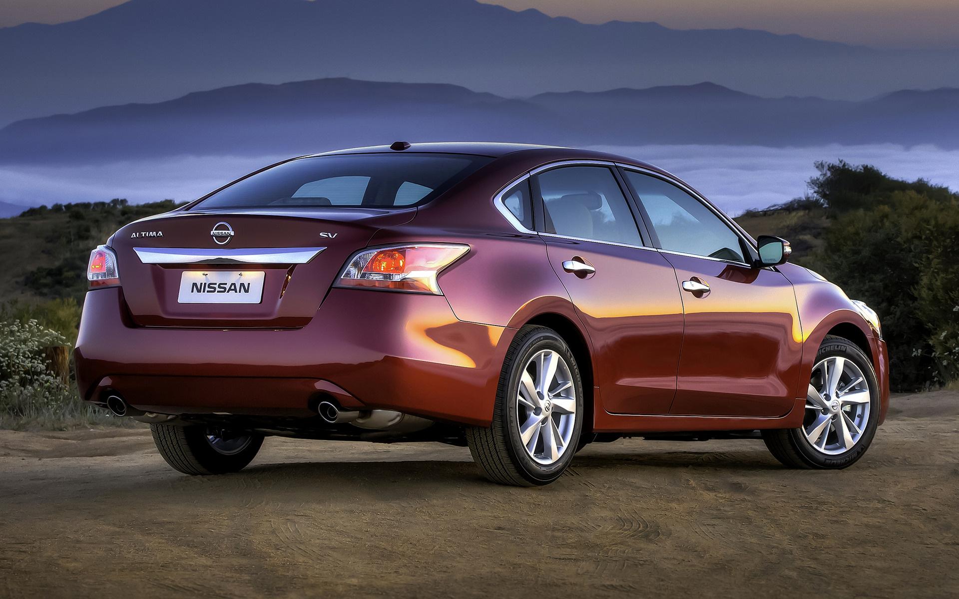 Nissan Altima Sl >> 2013 Nissan Altima SV - Wallpapers and HD Images | Car Pixel