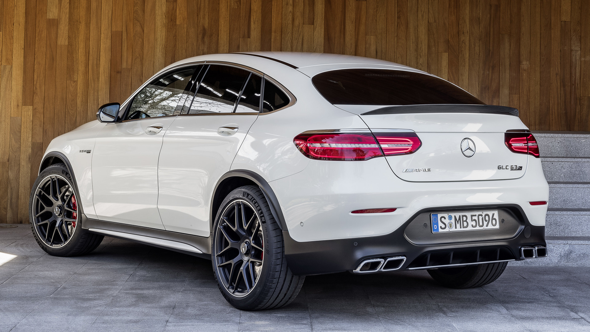 mercedes amg glc 63 s coupe 2017 wallpapers and hd images car pixel. Black Bedroom Furniture Sets. Home Design Ideas