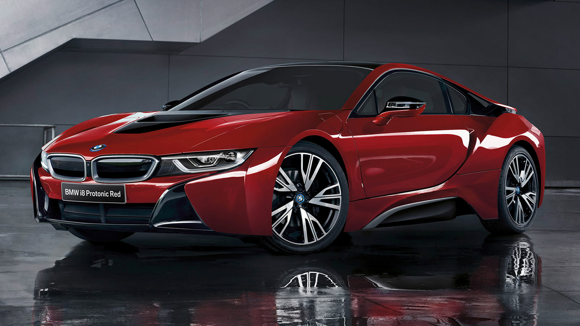 Bmw I8 Protonic Red Edition 2016 Wallpapers And Hd