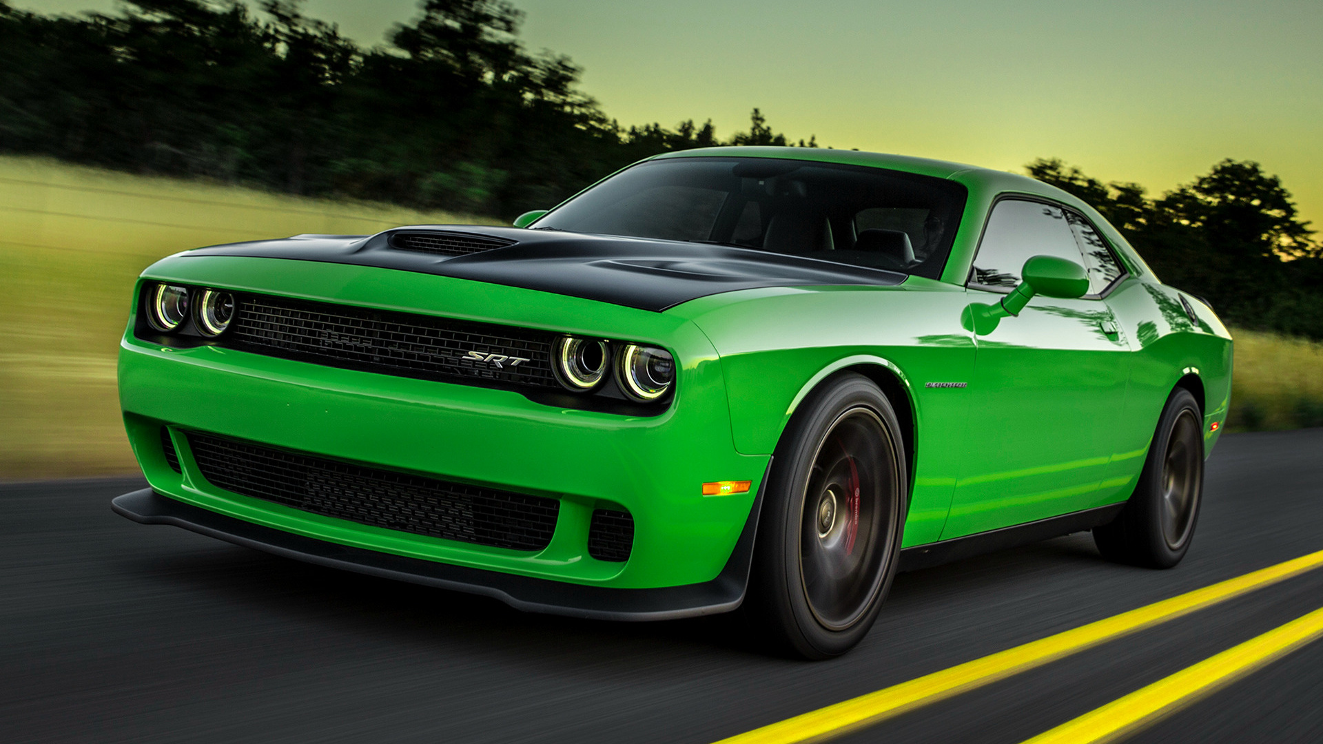 Dodge Challenger SRT Hellcat (2015) Wallpapers and HD Images - Car ...