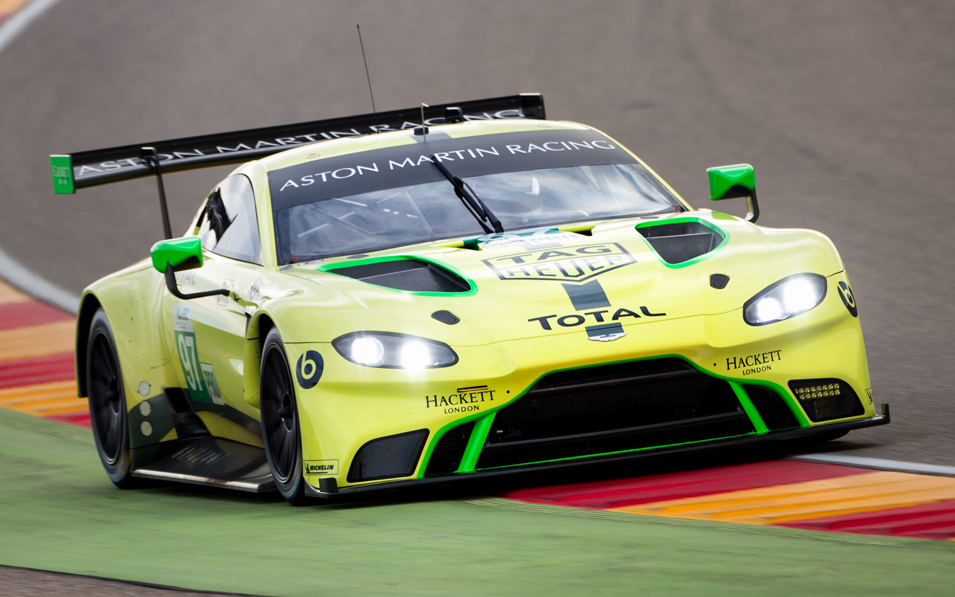 2018 Aston Martin Vantage Gte Wallpapers And Hd Images Car Pixel