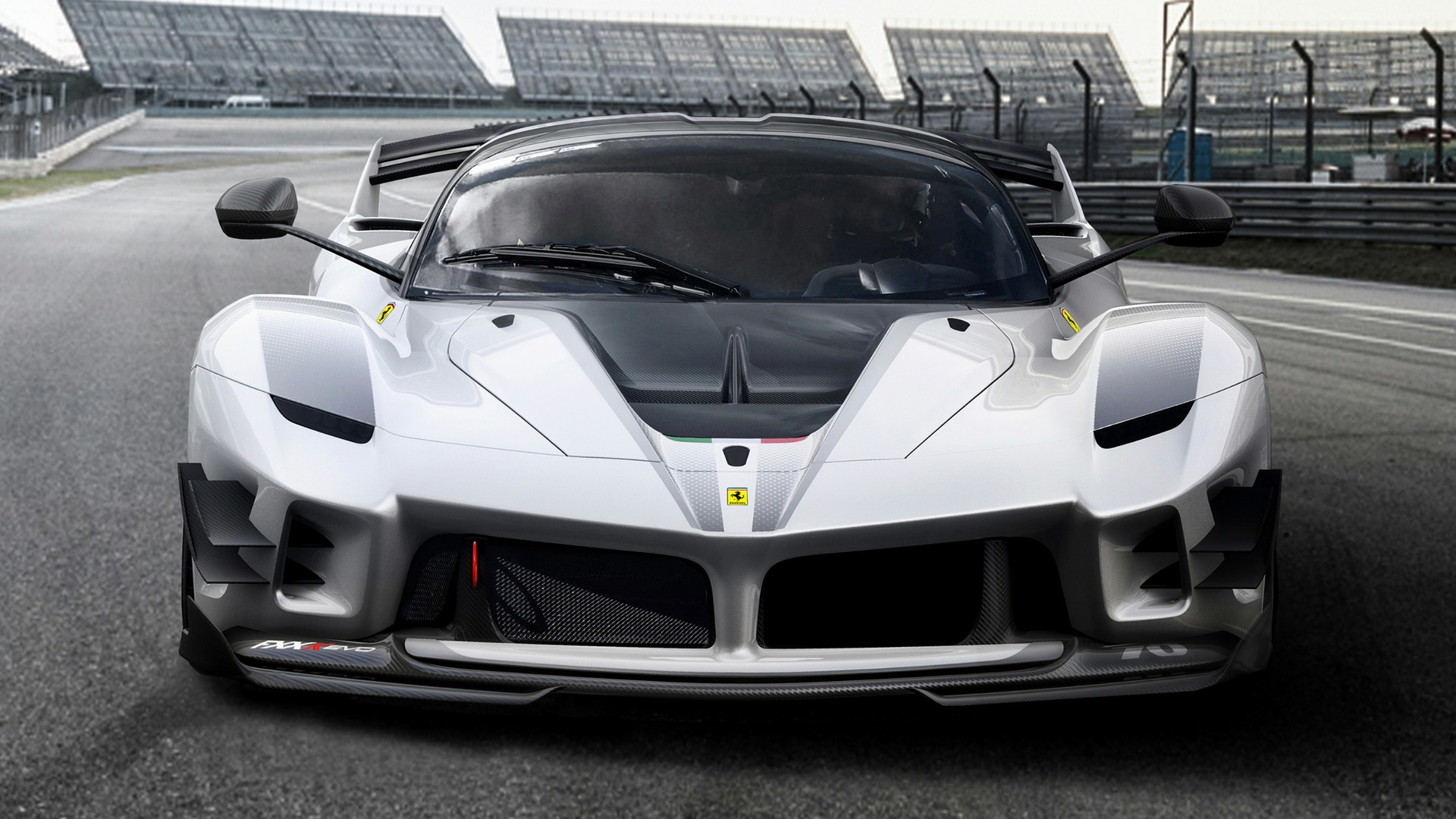 2018 ferrari fxx k evo wallpapers and hd images car pixel. Black Bedroom Furniture Sets. Home Design Ideas