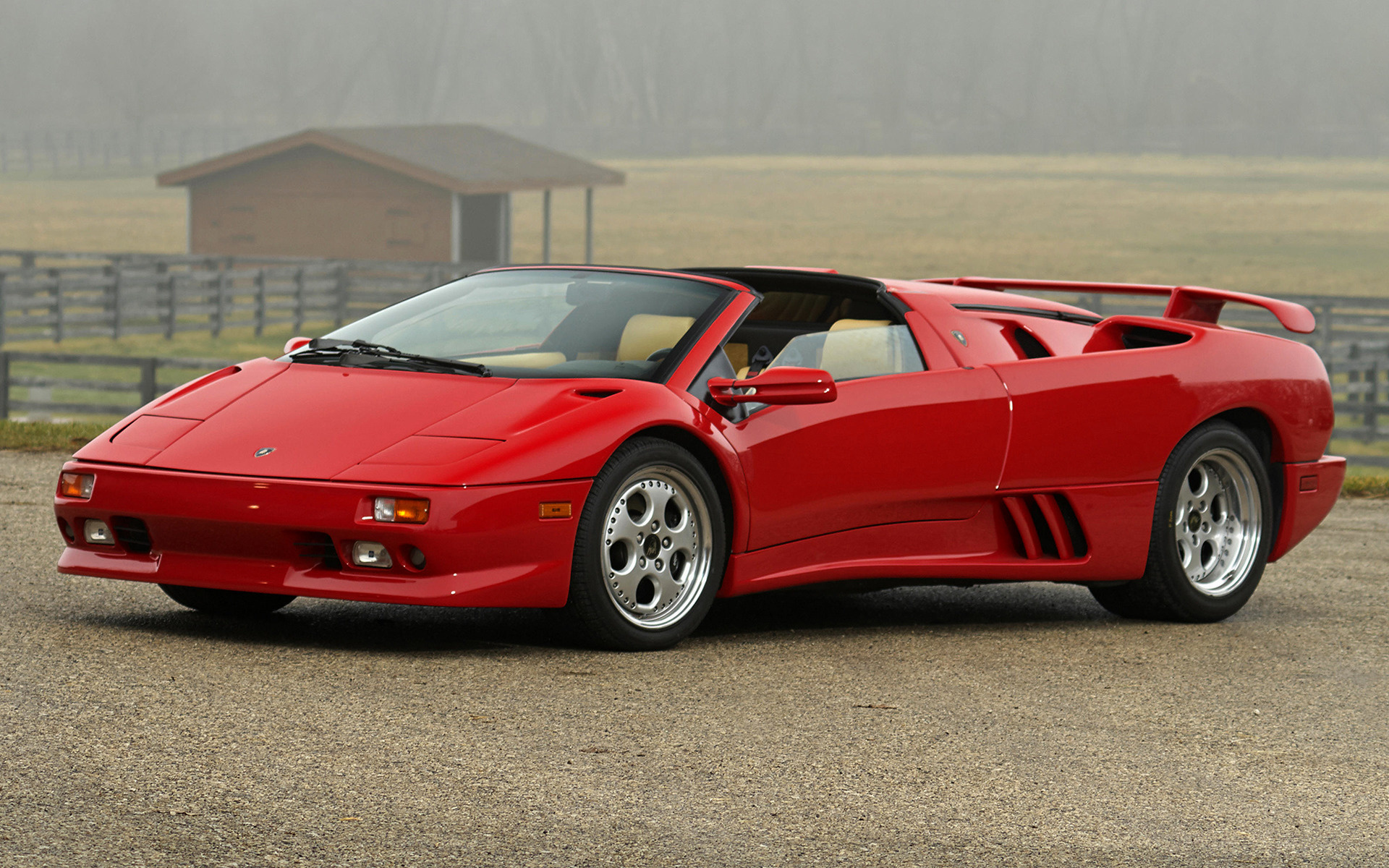 Lamborghini Diablo Vt Roadster Car Wallpaper