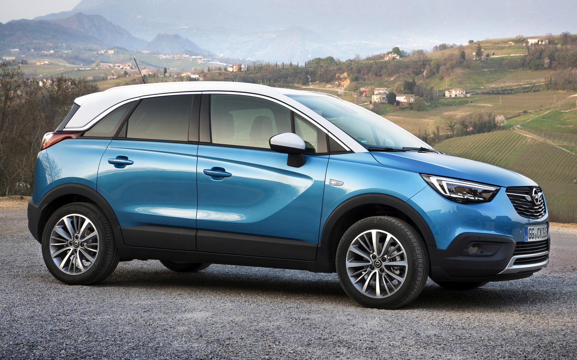 opel crossland x 2017 wallpapers and hd images car pixel. Black Bedroom Furniture Sets. Home Design Ideas