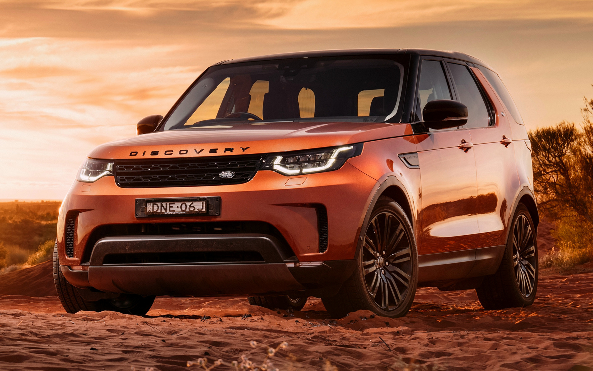 Land Rover Discovery >> 2017 Land Rover Discovery First Edition (AU) - Wallpapers and HD Images | Car Pixel