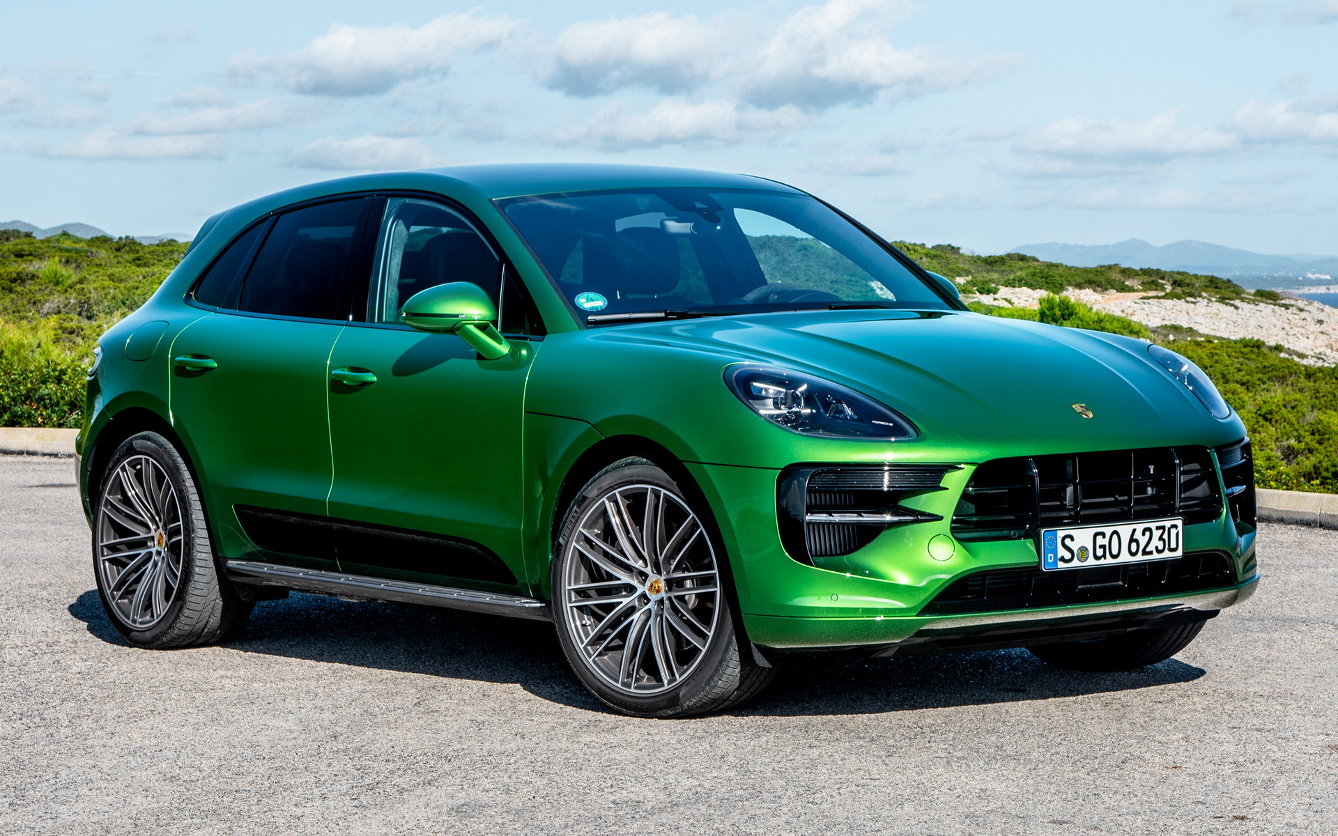 2018 Porsche Macan S Sportdesign Package Wallpapers And