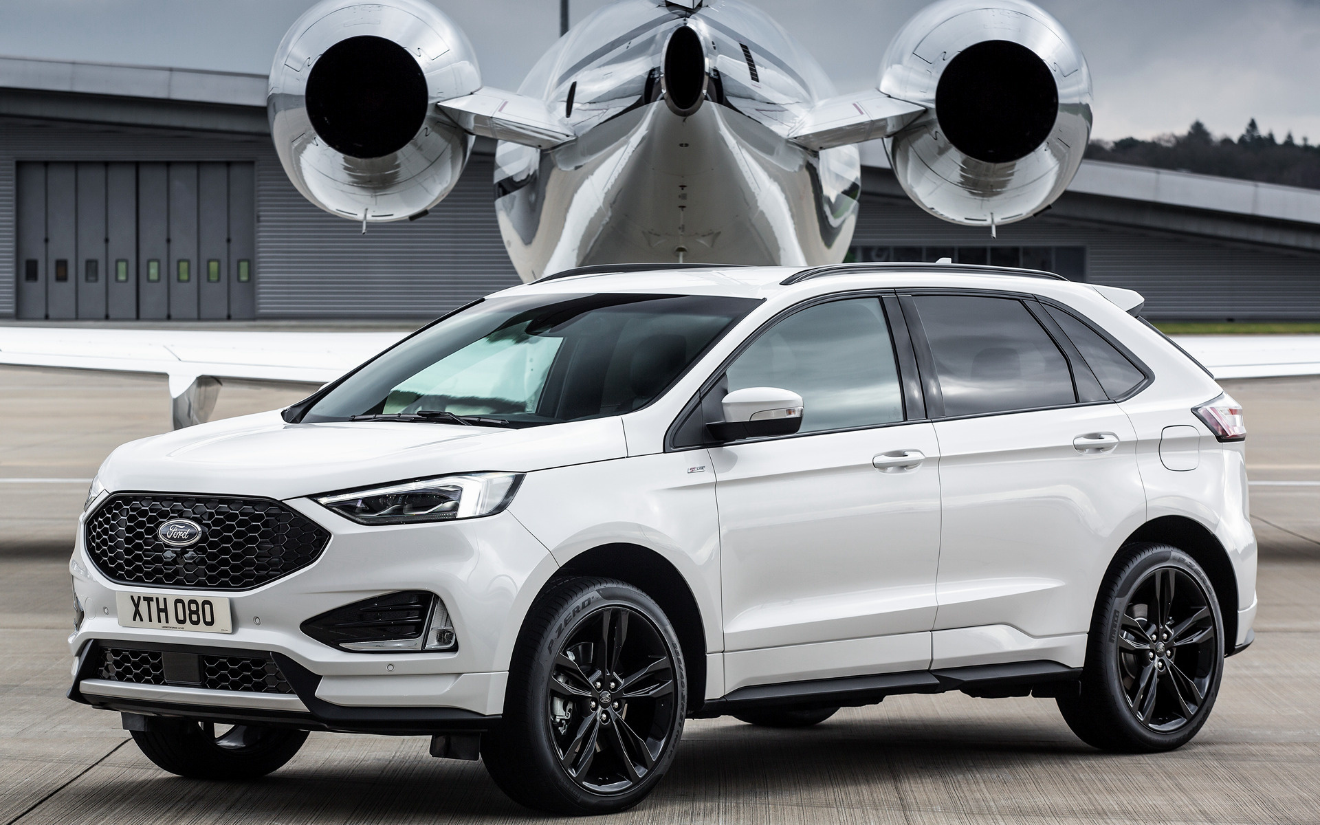 ford edge st line 2019 eu wallpapers and hd images car pixel. Black Bedroom Furniture Sets. Home Design Ideas
